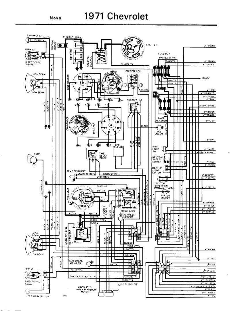 55 Chevrolet Wiring Diagram