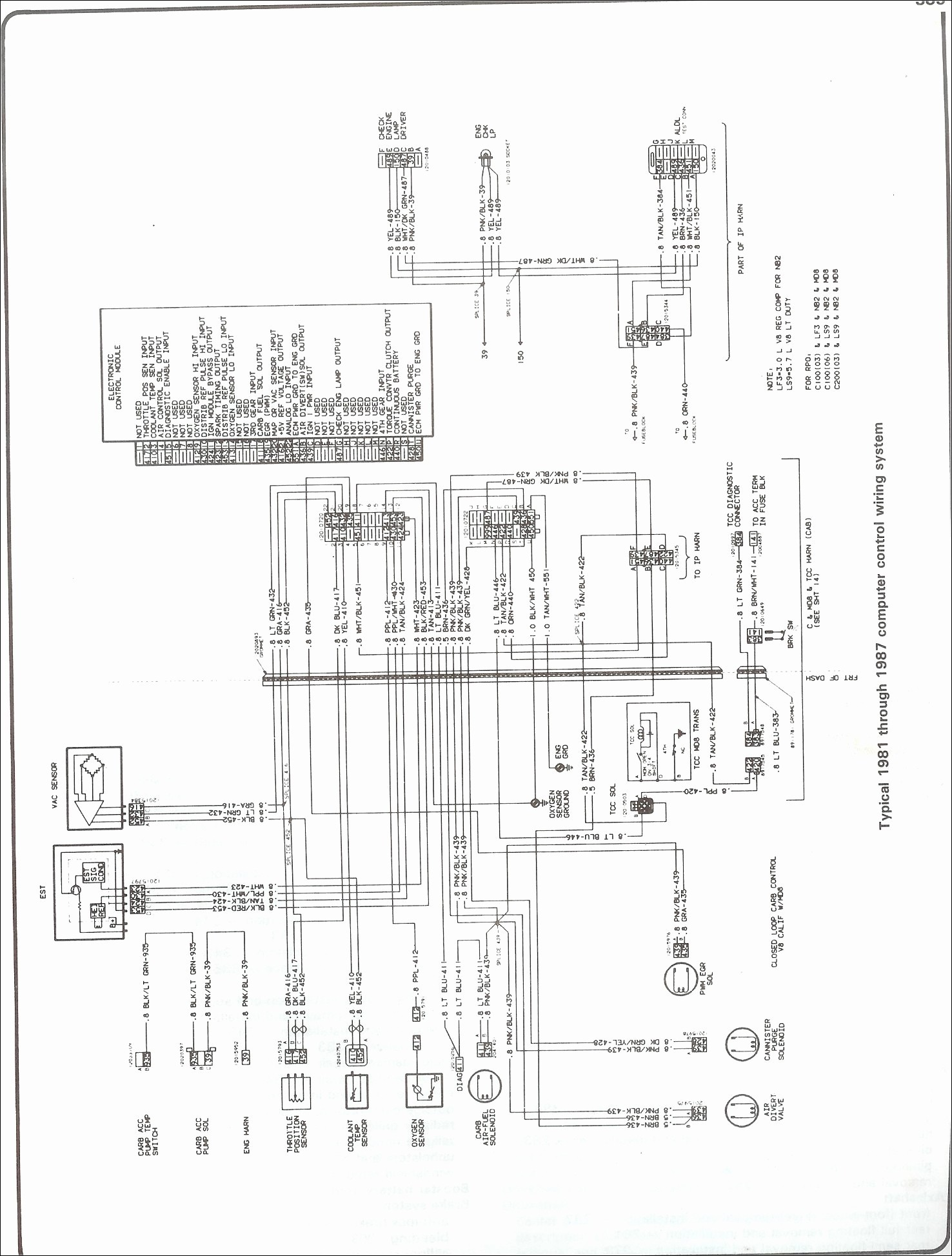 86 Chevy Truck Wiring Harness Wiring Diagram DataSource