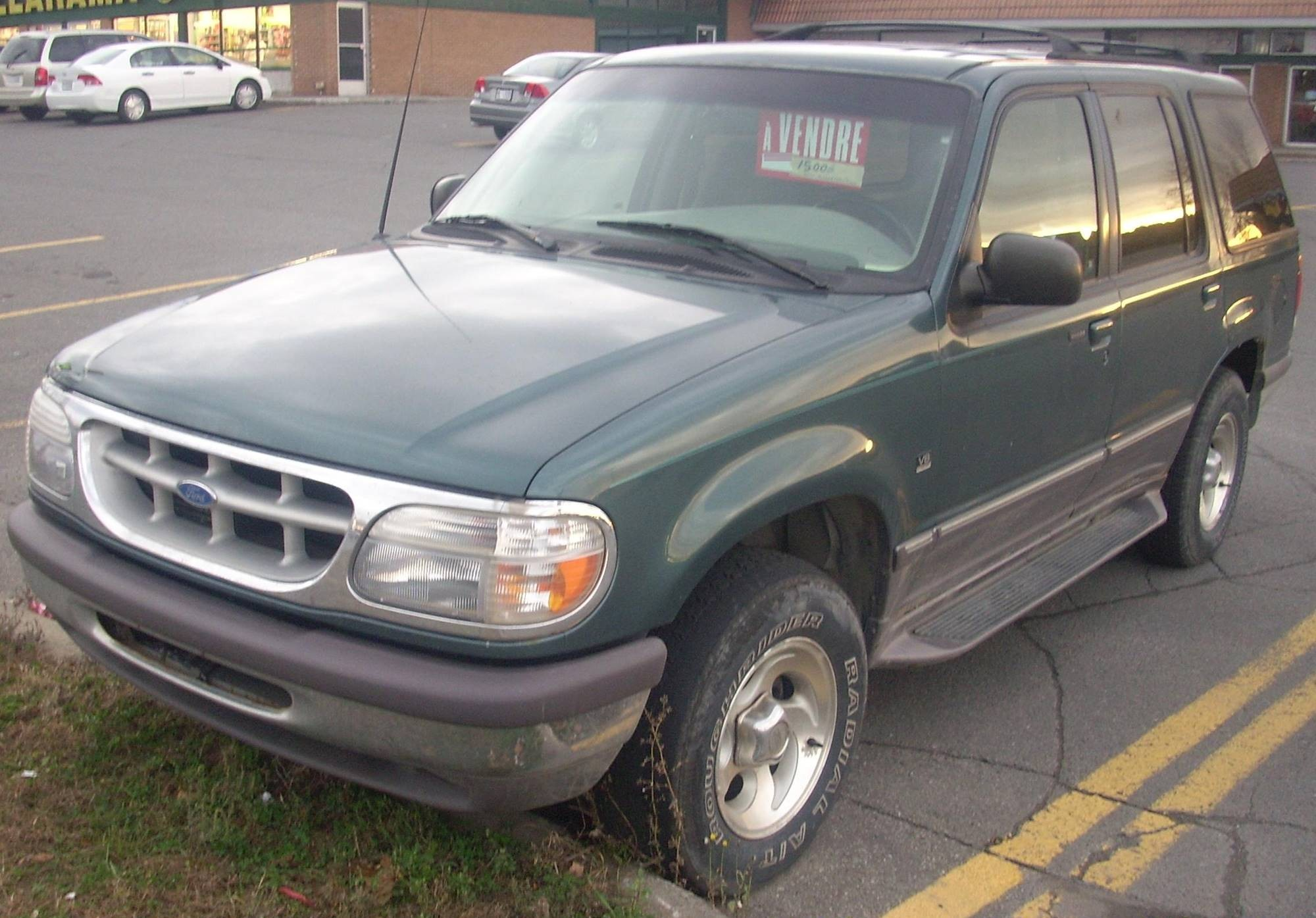 1996 ford Explorer Parts Diagram 1996 ford Explorer Xlt 4dr Suv 4 0l V6 Manual Of 1996 ford Explorer Parts Diagram