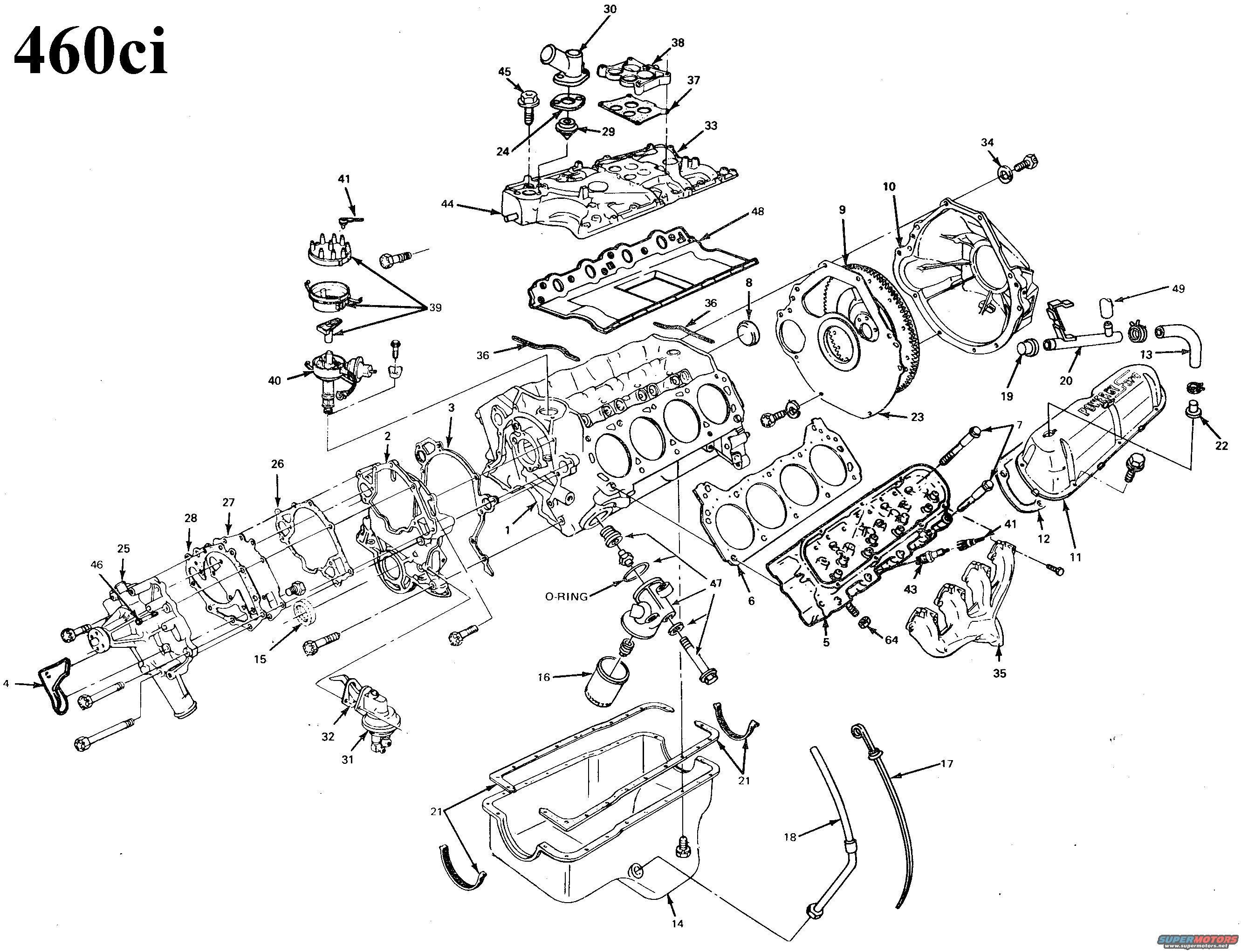 1996 ford Ranger Parts Diagram ford 460 Engine Diagram Wiring Diagram for You Of 1996 ford Ranger Parts Diagram