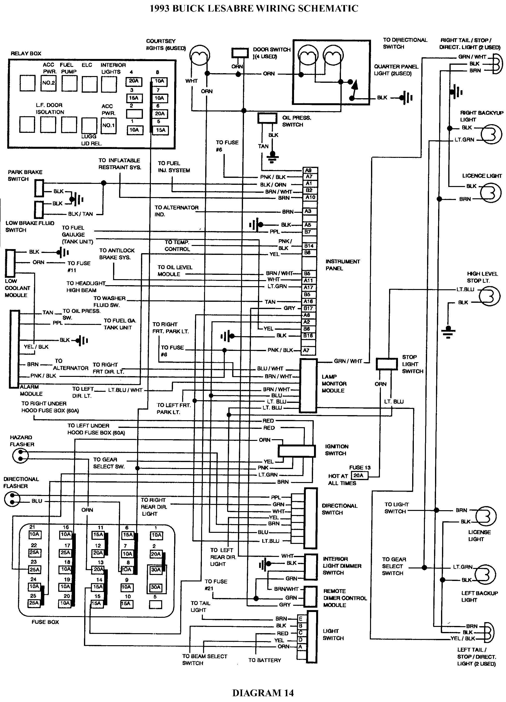 1999 buick century starter wiring diagram 2000 buick regal 1995 buick park avenue wiring-diagram 2000 buick park avenue wiring diagram #8