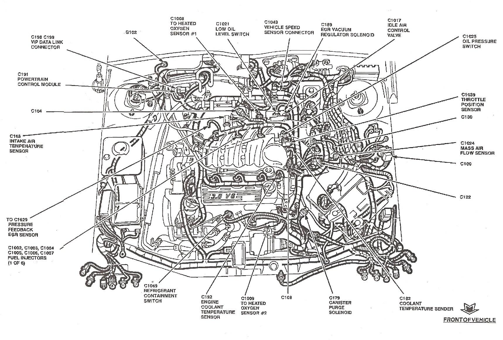 2004 ford Freestar Engine Diagram Fuel Line Diagram ford Taurus Fuel Line Diagram ford F150 Fuel Of 2004 ford Freestar Engine Diagram
