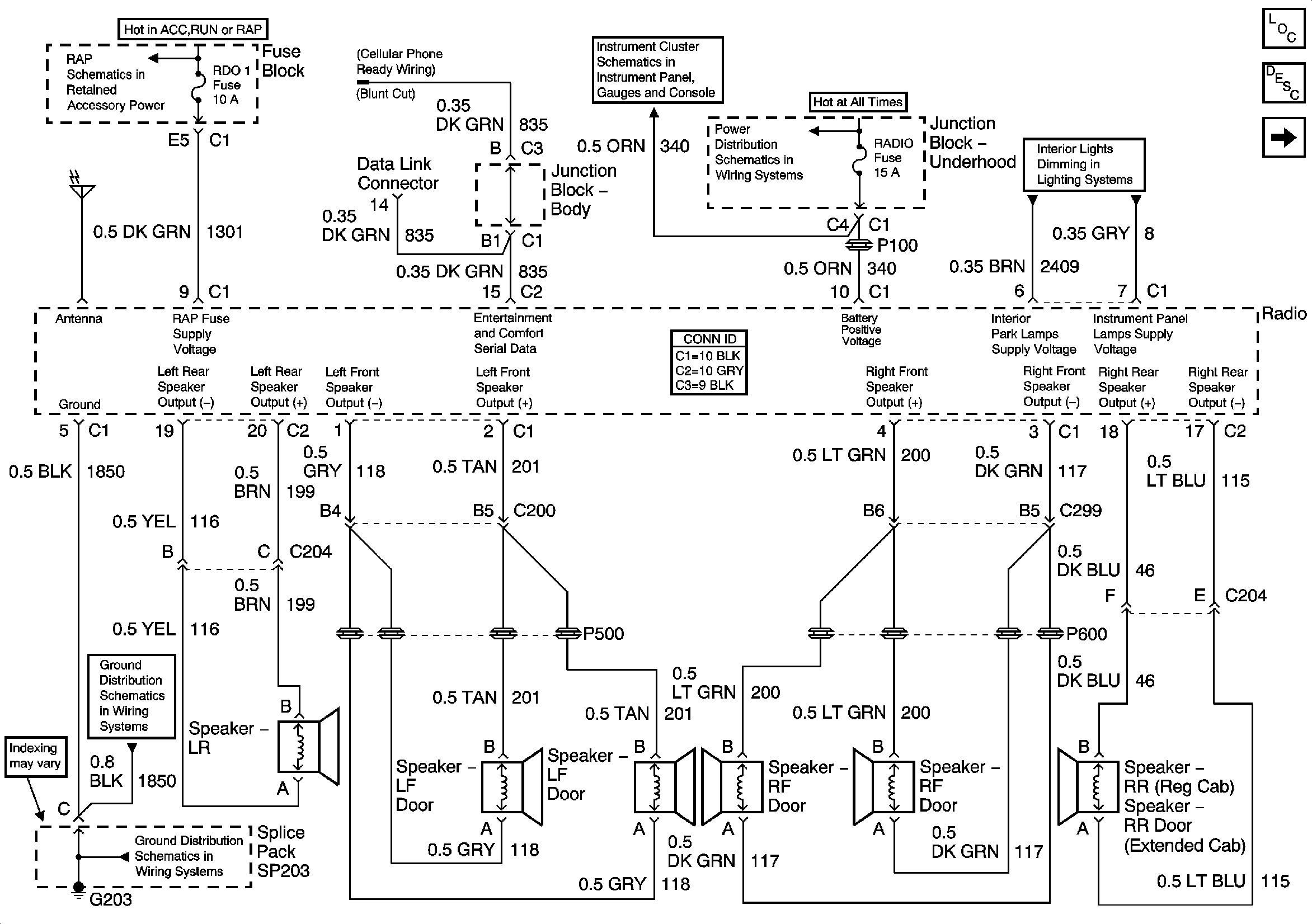 9636A68 2004 Gmc Envoy Radio Wiring Diagram Hecho | Wiring ResourcesWiring Resources