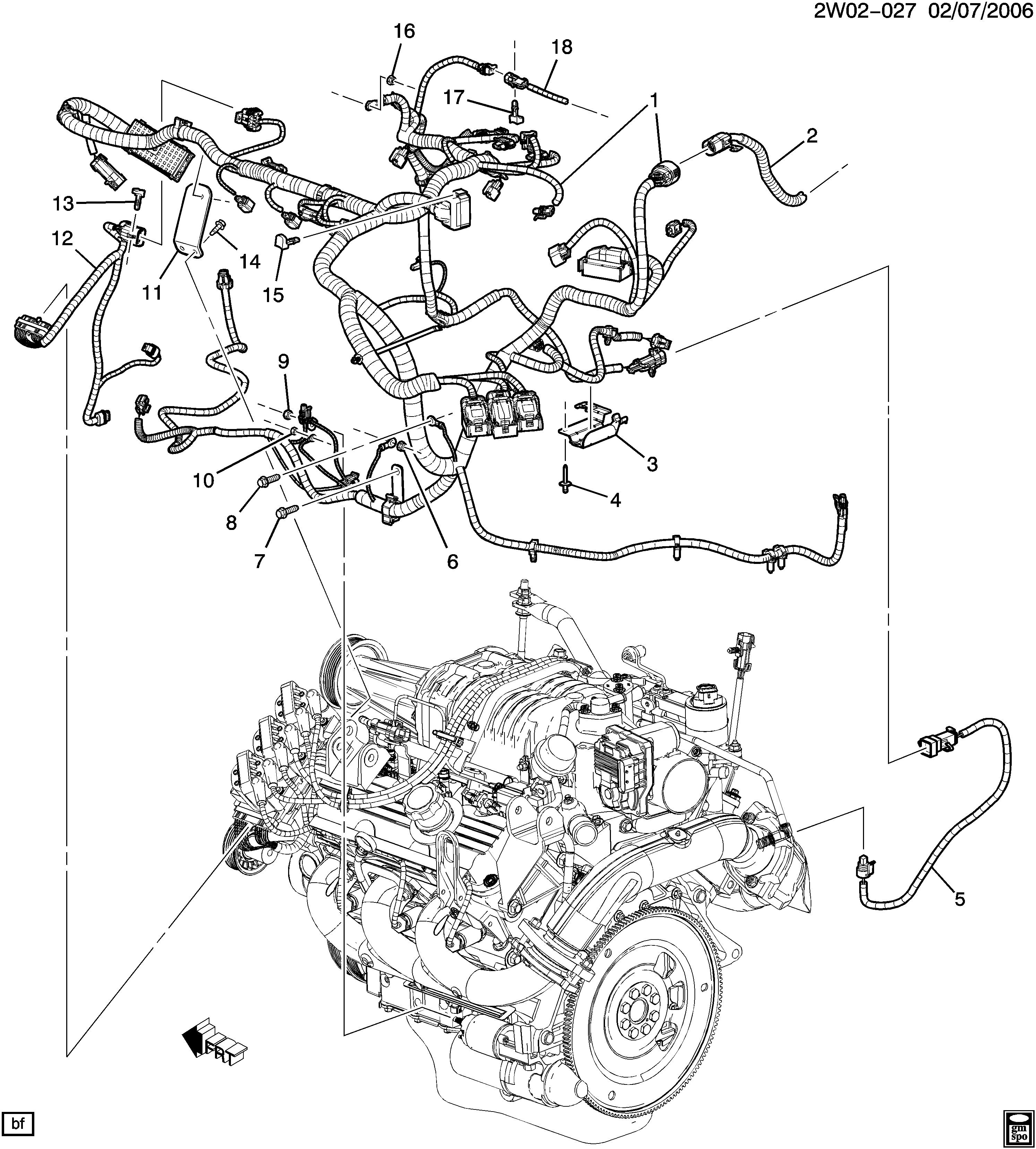 2006 Grand Prix Engine Diagram Pontiac Grand Prix W Wiring Harness Engine L32 3 8 4 Epc Of 2006 Grand Prix Engine Diagram