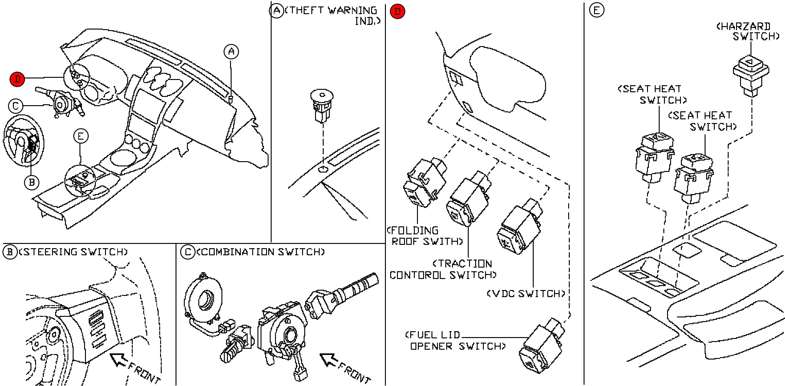 350z Suspension Diagram Oem 350z Vdc Vehicle Dynamic Control Switch Z1 Motorsports Of 350z Suspension Diagram Wiring Diagram 2005 350z