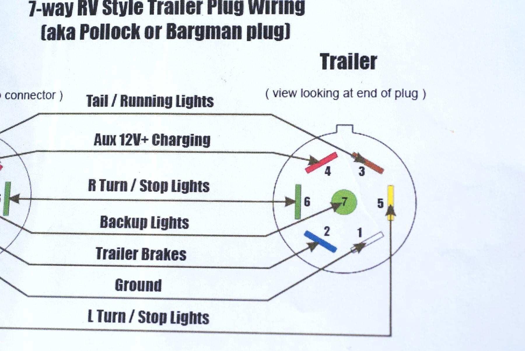 7 Way Trailer Plug Wiring Diagram 7 Wire Rv Diagram Wiring Diagrams Konsult Of 7 Way Trailer Plug Wiring Diagram