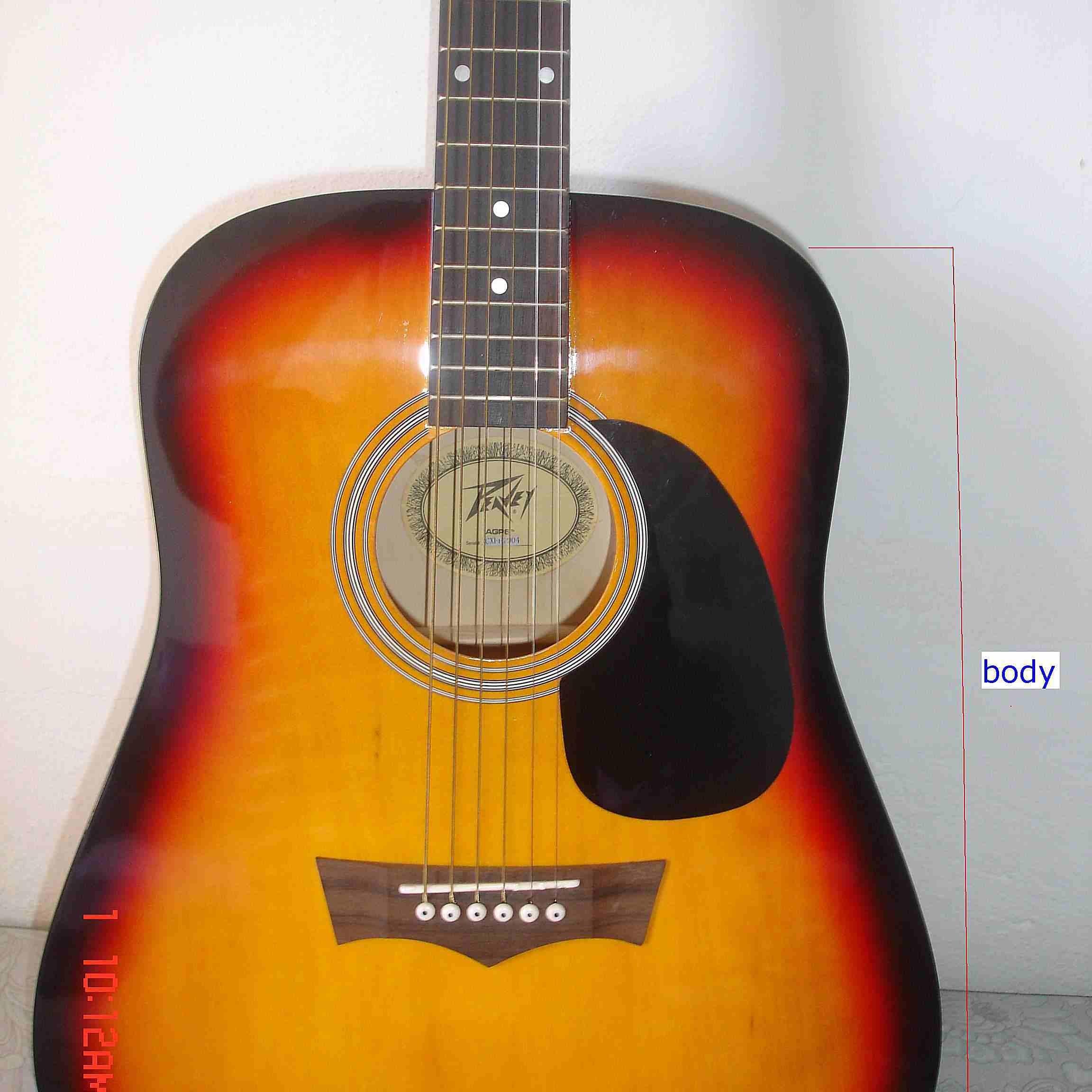 Acoustic Guitar Parts Diagram
