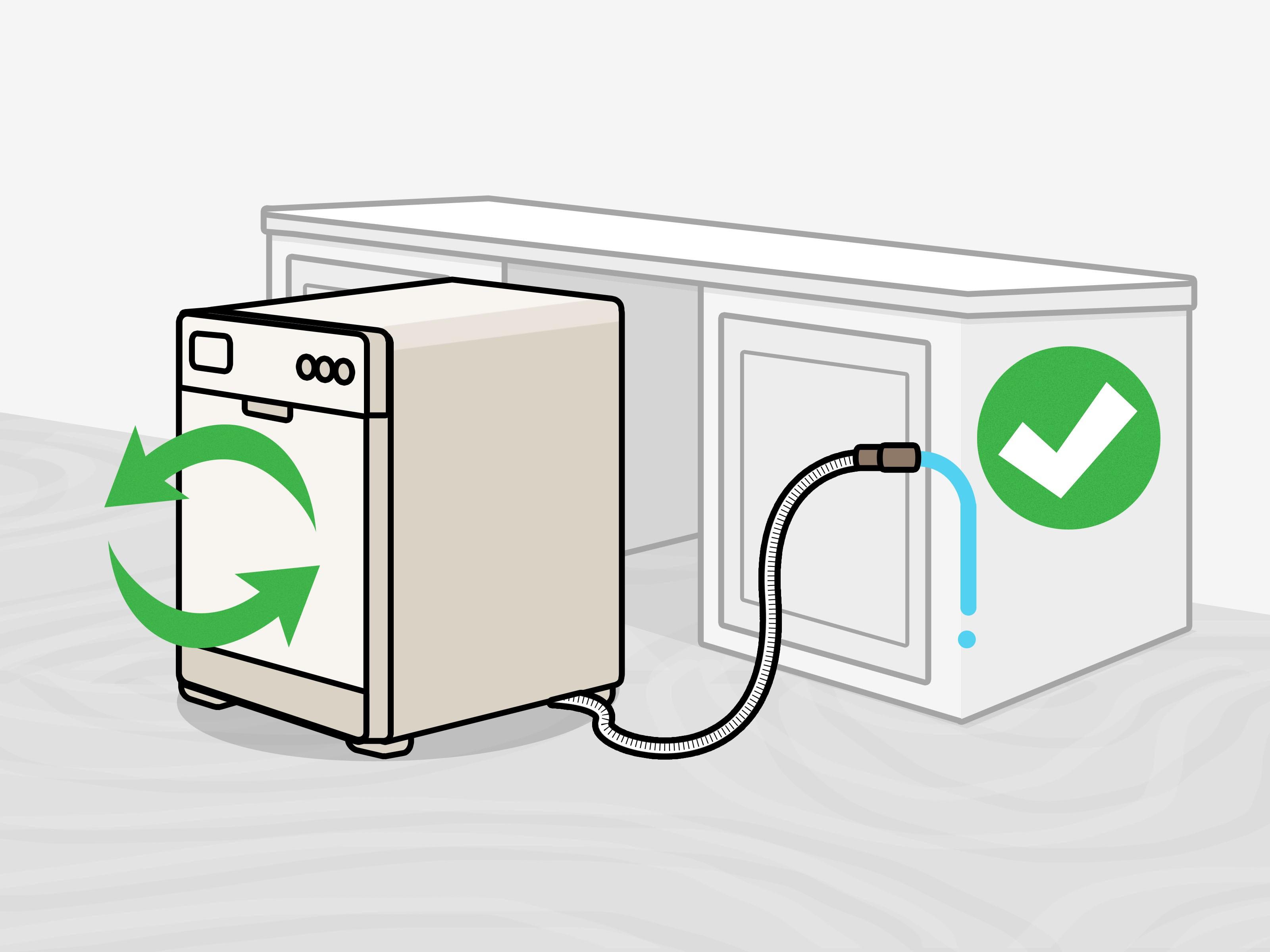 Asko Dishwasher Parts Diagram 2 Easy Ways to Drain A Dishwasher with Wikihow Of Asko Dishwasher Parts Diagram