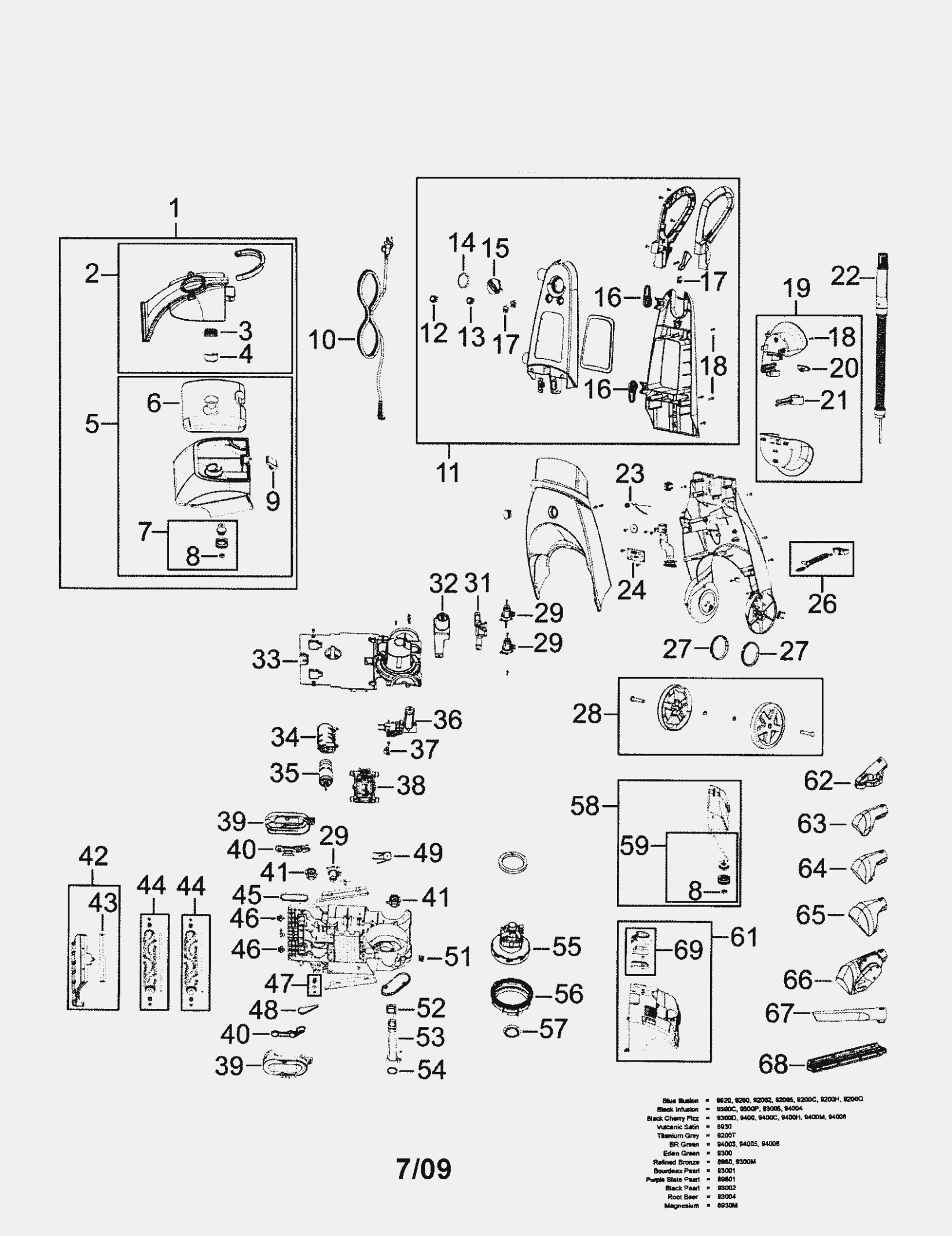 Bissell Proheat 2x Parts Diagram Carpet Cleaner Wiring Diagram Wiring Diagram New Of Bissell Proheat 2x Parts Diagram