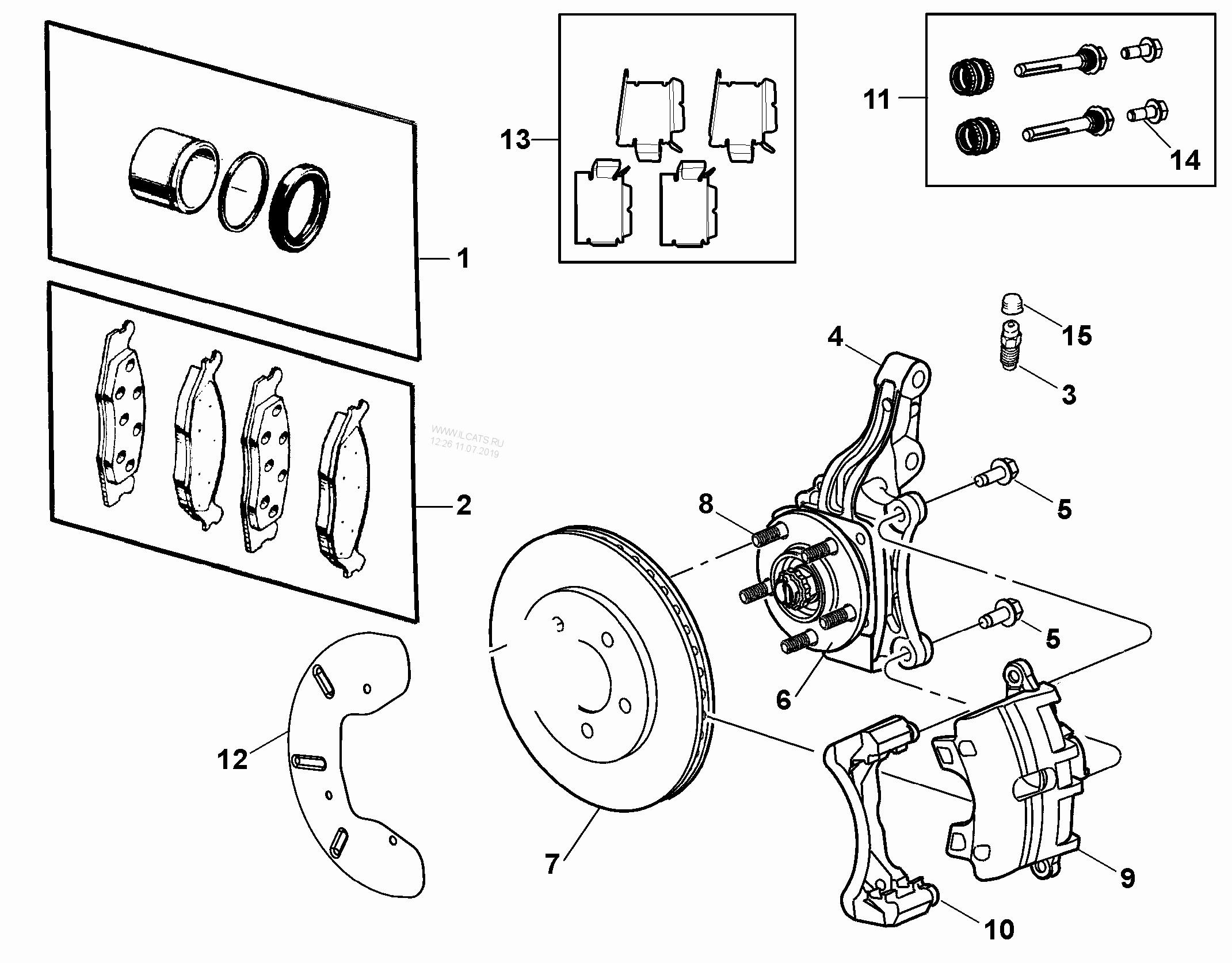 Brake Assembly Diagram