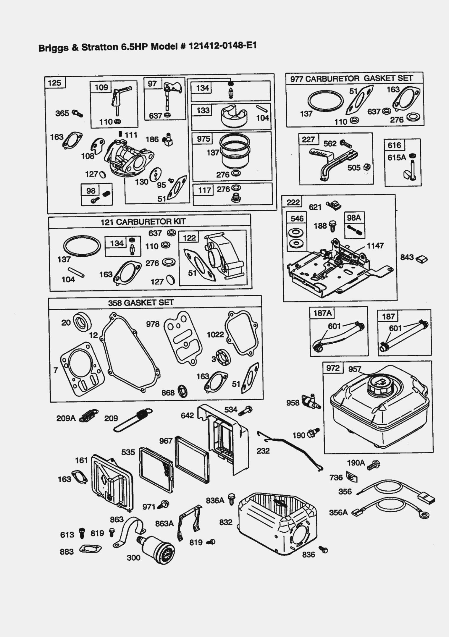Briggs And Stratton Carb Diagram