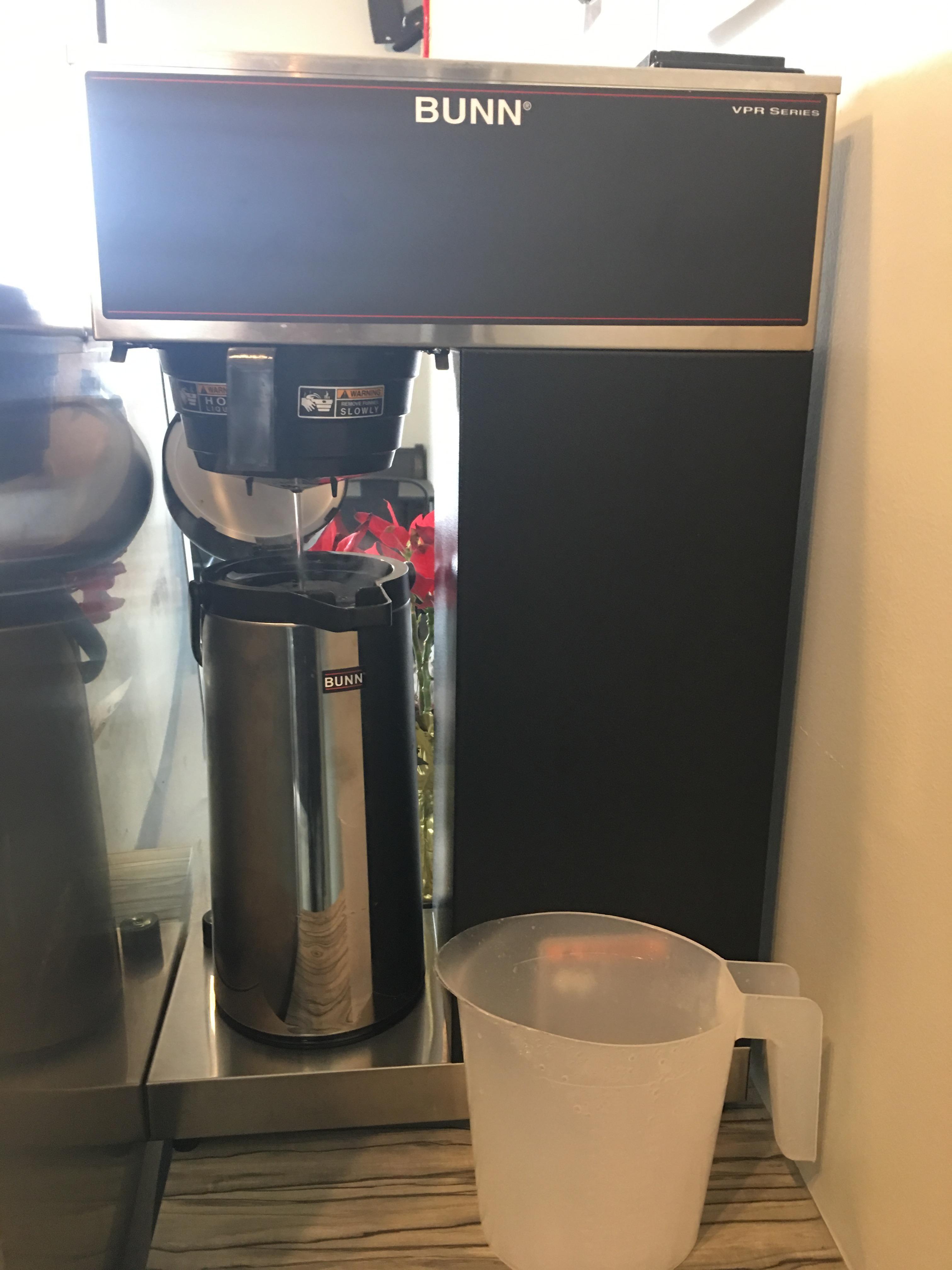 Bunn Coffee Maker Parts Diagram Bunn 0014 Vpr Aps Pourover Airpot Coffee Brewer with 2 2 Liter Of Bunn Coffee Maker Parts Diagram