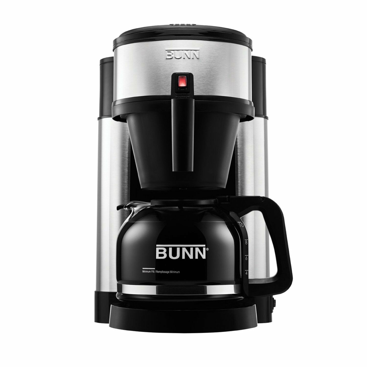 Bunn Coffee Maker Parts Diagram Bunn Nhs Velocity Brew 10 Cup Home Coffee Brewer Stainless Steel Of Bunn Coffee Maker Parts Diagram