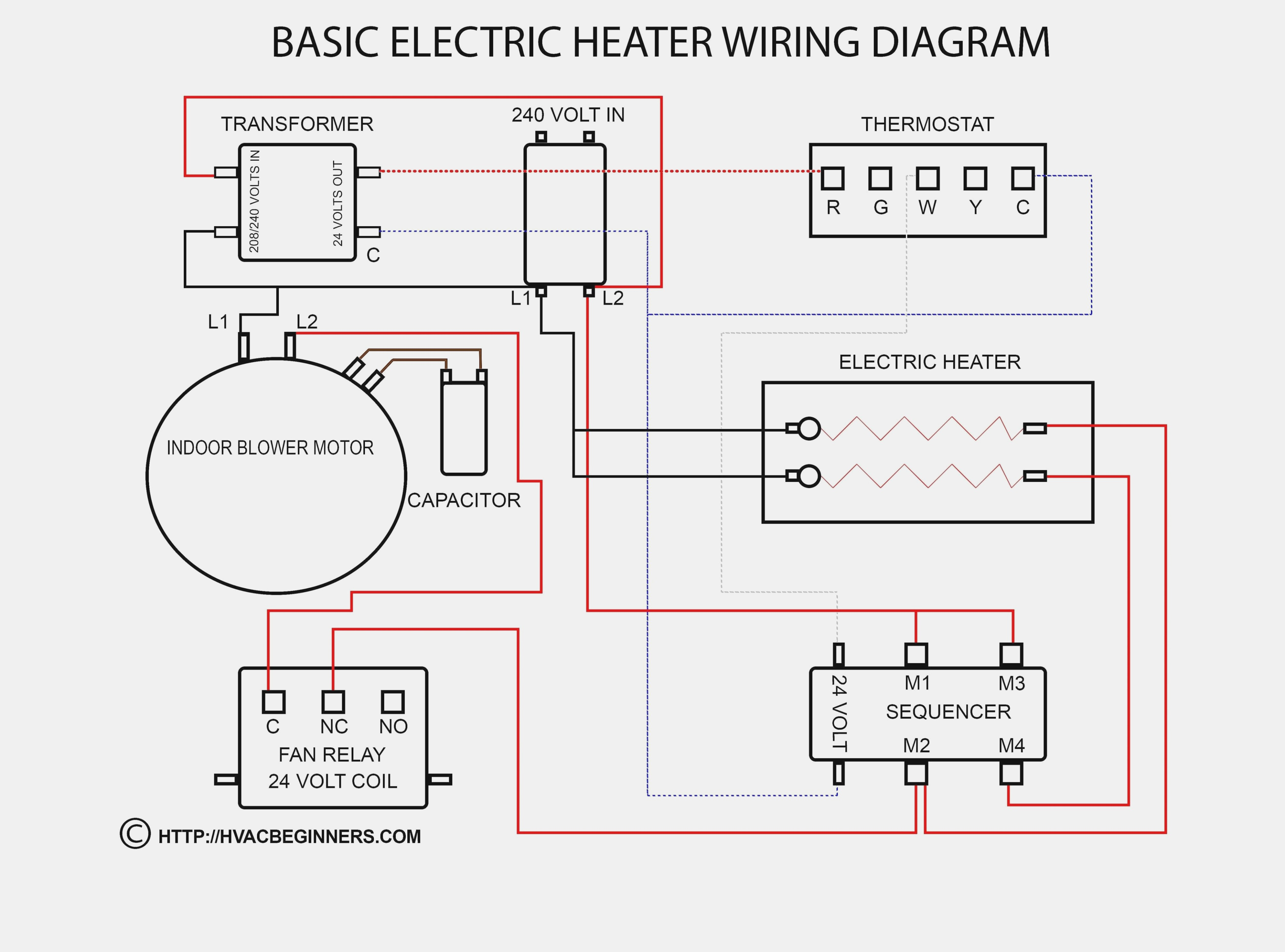 Wiring A Electric Space Heater Schema Wiring Diagram