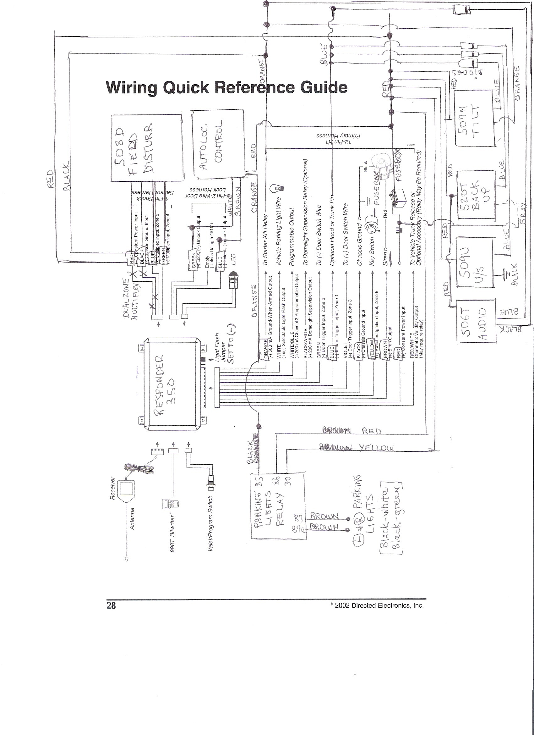 Car Security System Wiring Diagram Pagoda Sl Group Technical Manual Accessories Of Car Security System Wiring Diagram