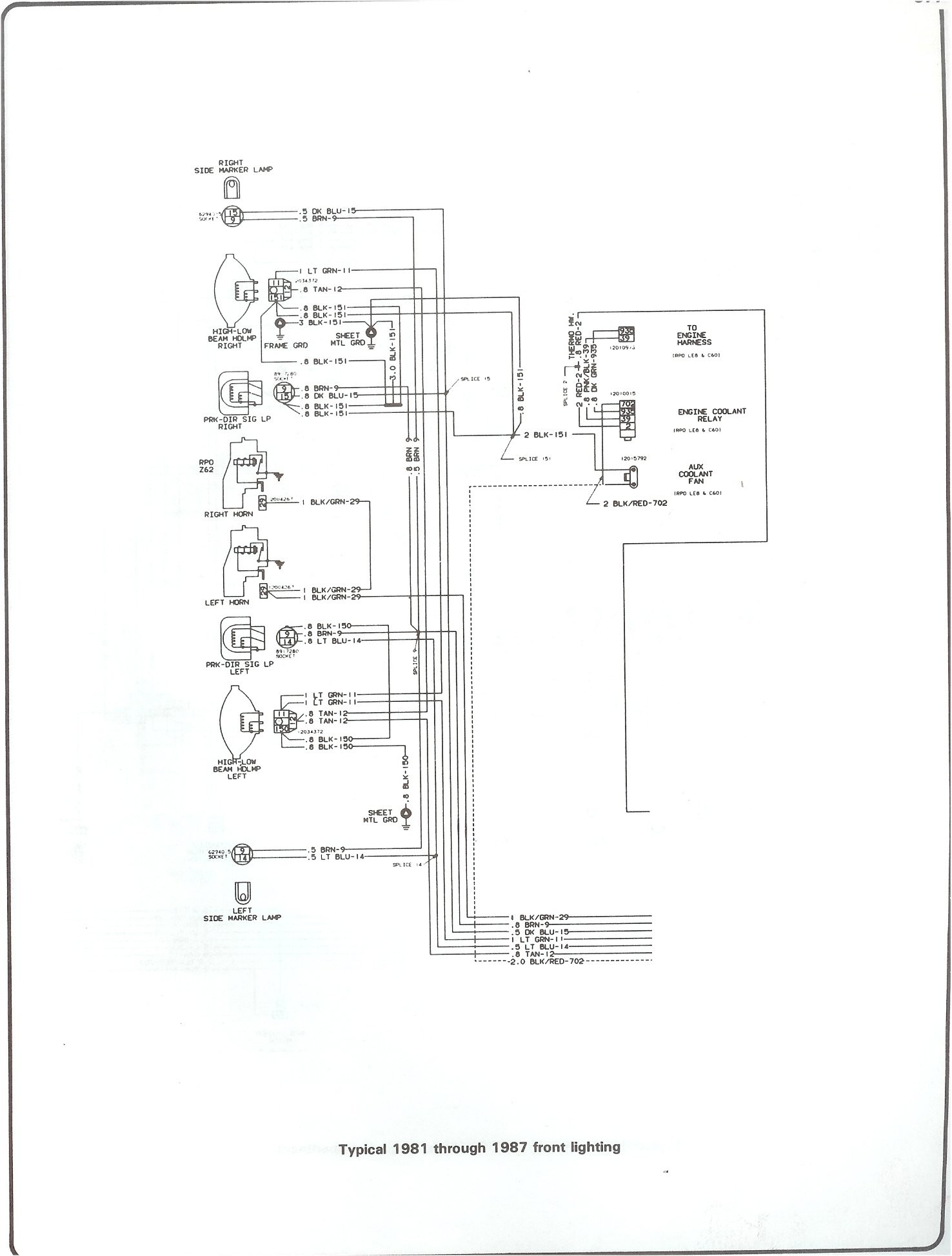 Chevy S10 Tail Light Wiring Diagram Wiring Diagram 81 Chevy Truck Of Chevy S10 Tail Light Wiring Diagram