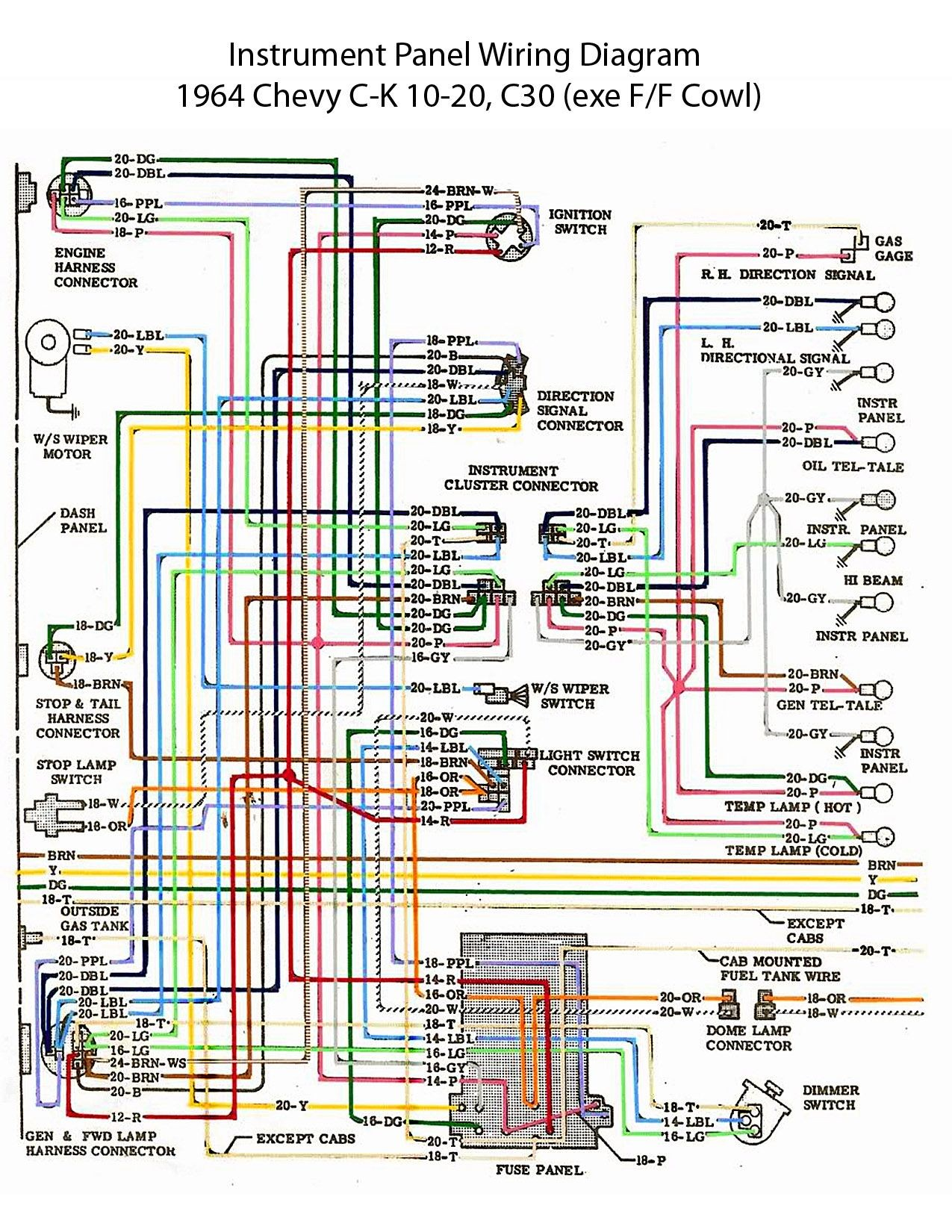 Chevy Truck Parts Diagram Electric Wiring Diagram Instrument Panel Of Chevy Truck Parts Diagram