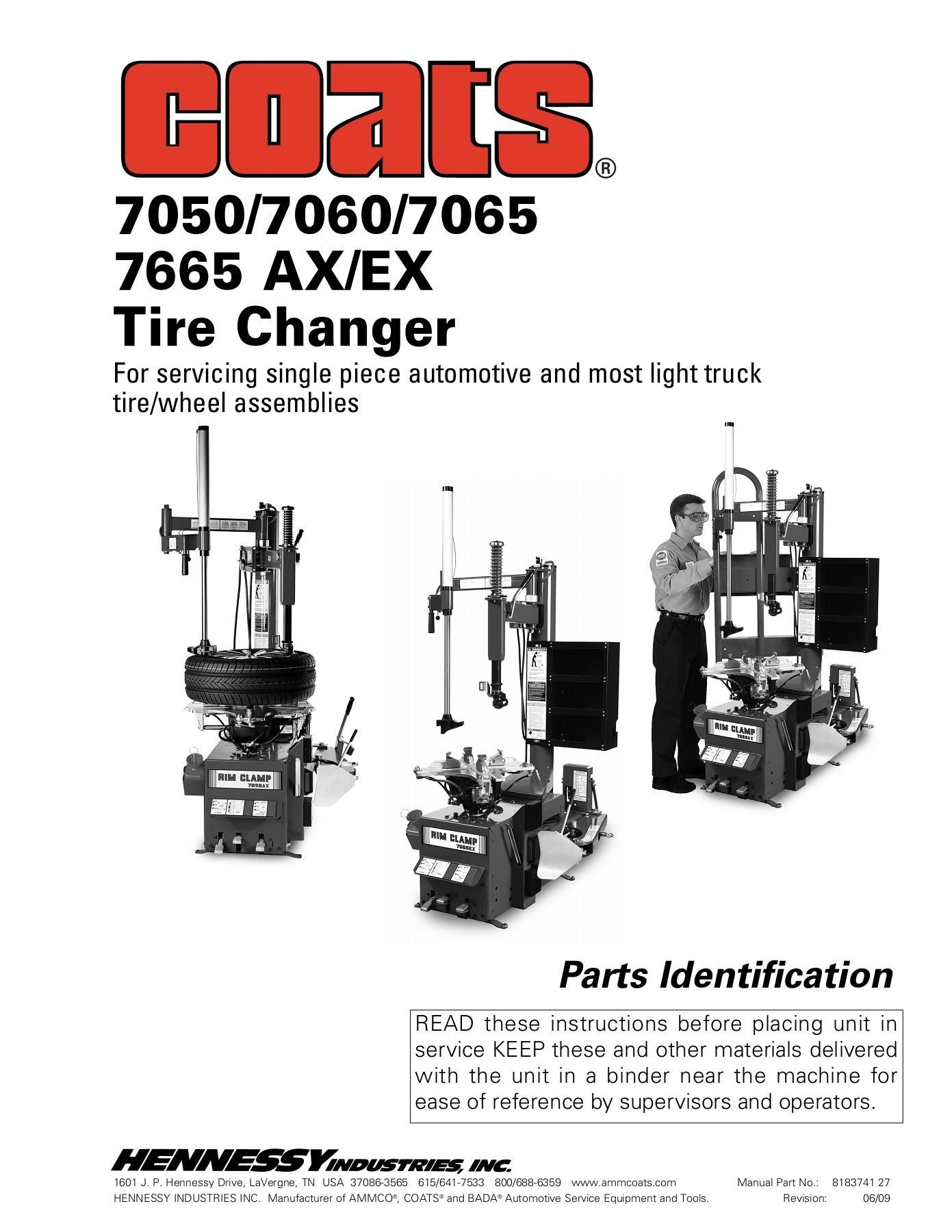 Coats Tire Machine Parts Diagram 7050 7060 7065 7665 Ax Ex Tire Changer Pages 1 24 Text Version Of Coats Tire Machine Parts Diagram