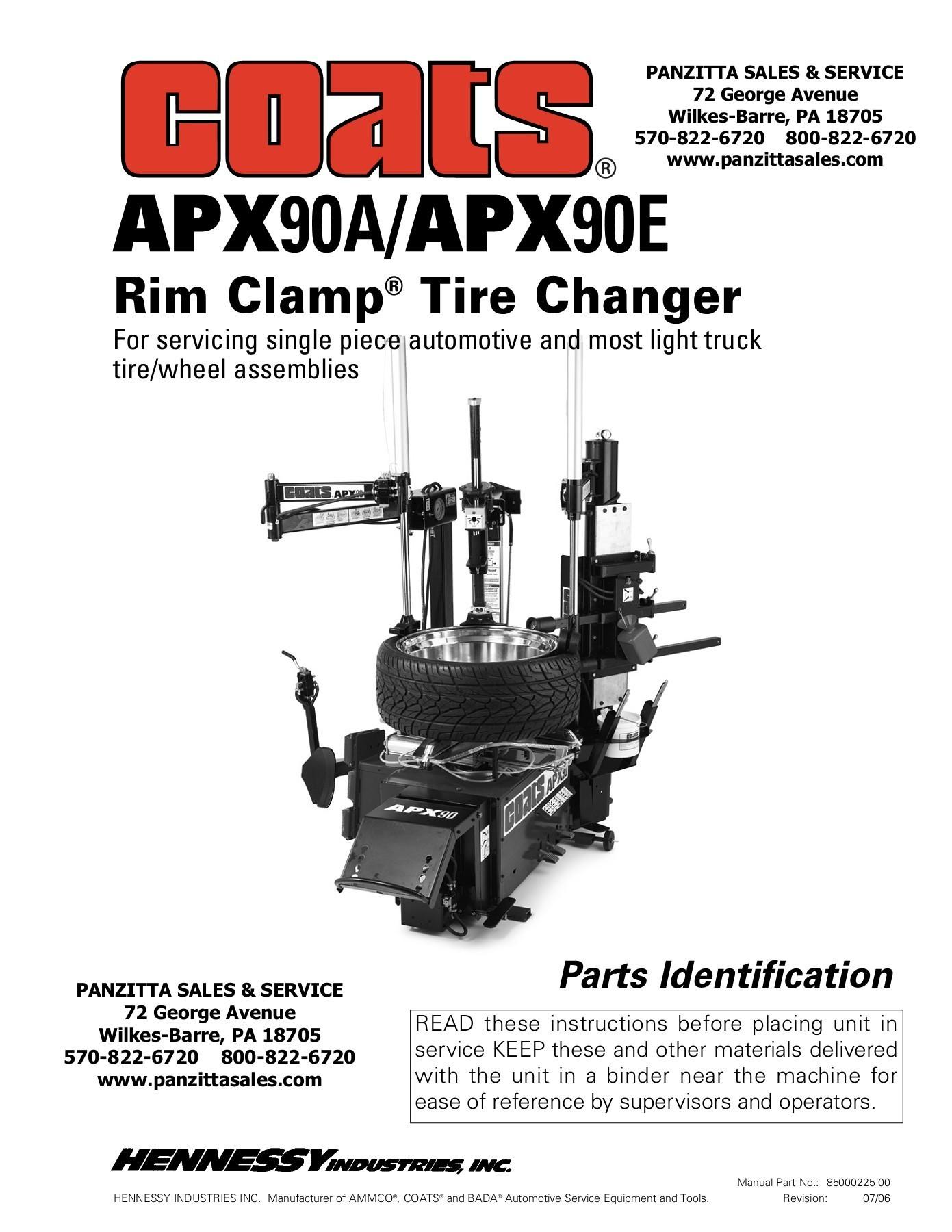 Coats Tire Machine Parts Diagram Rim Clamp Tire Changer Panzitta Enterprises Pages 1 25 Text Of Coats Tire Machine Parts Diagram