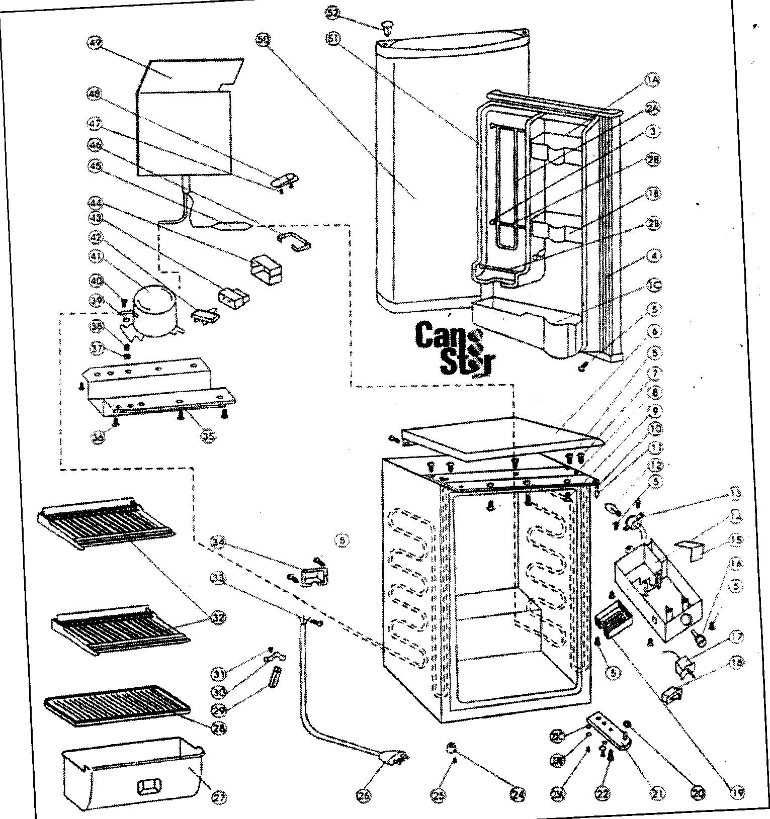 Danby Kegerator Parts Diagram Looking for Danby Model Dar452bl Pact Refrigerator Repair Of Danby Kegerator Parts Diagram