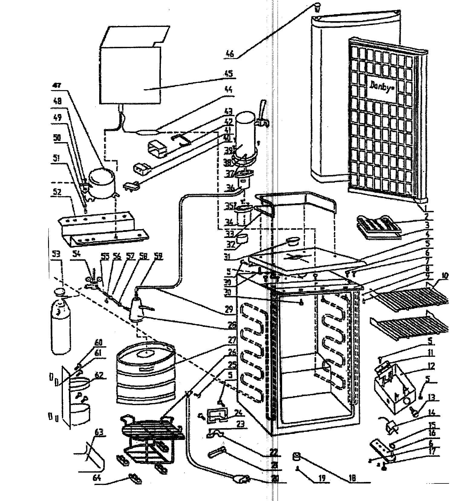 Danby Kegerator Parts Diagram Looking for Danby Model Dkc445bl Wine & Beverage Cooler Repair Of Danby Kegerator Parts Diagram