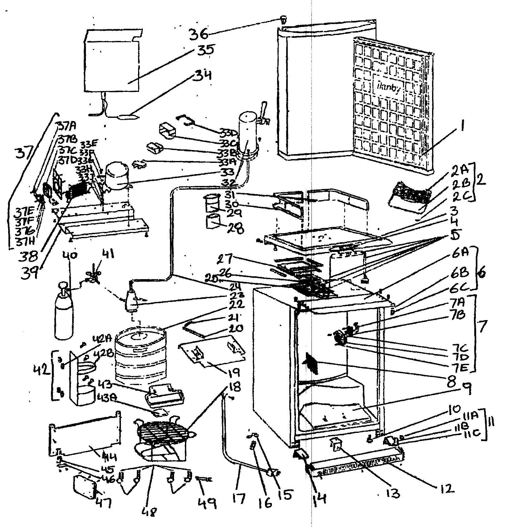 Danby Kegerator Parts Diagram Looking for Danby Model Dkc645bls Wine & Beverage Cooler Repair Of Danby Kegerator Parts Diagram
