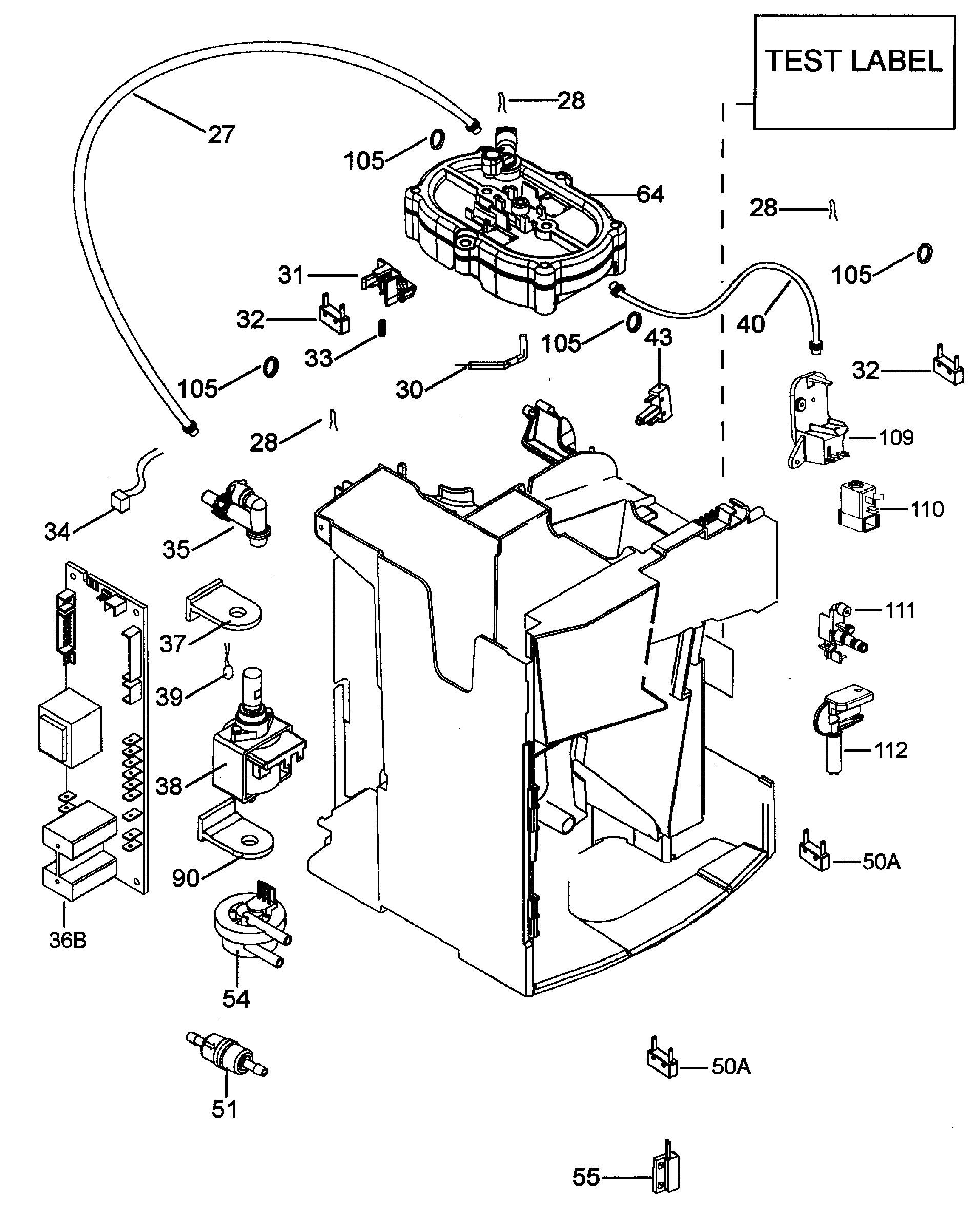 Delonghi Magnifica Parts Diagram Delonghi Eam3500 N Magnifica Spares Of Delonghi Magnifica Parts Diagram