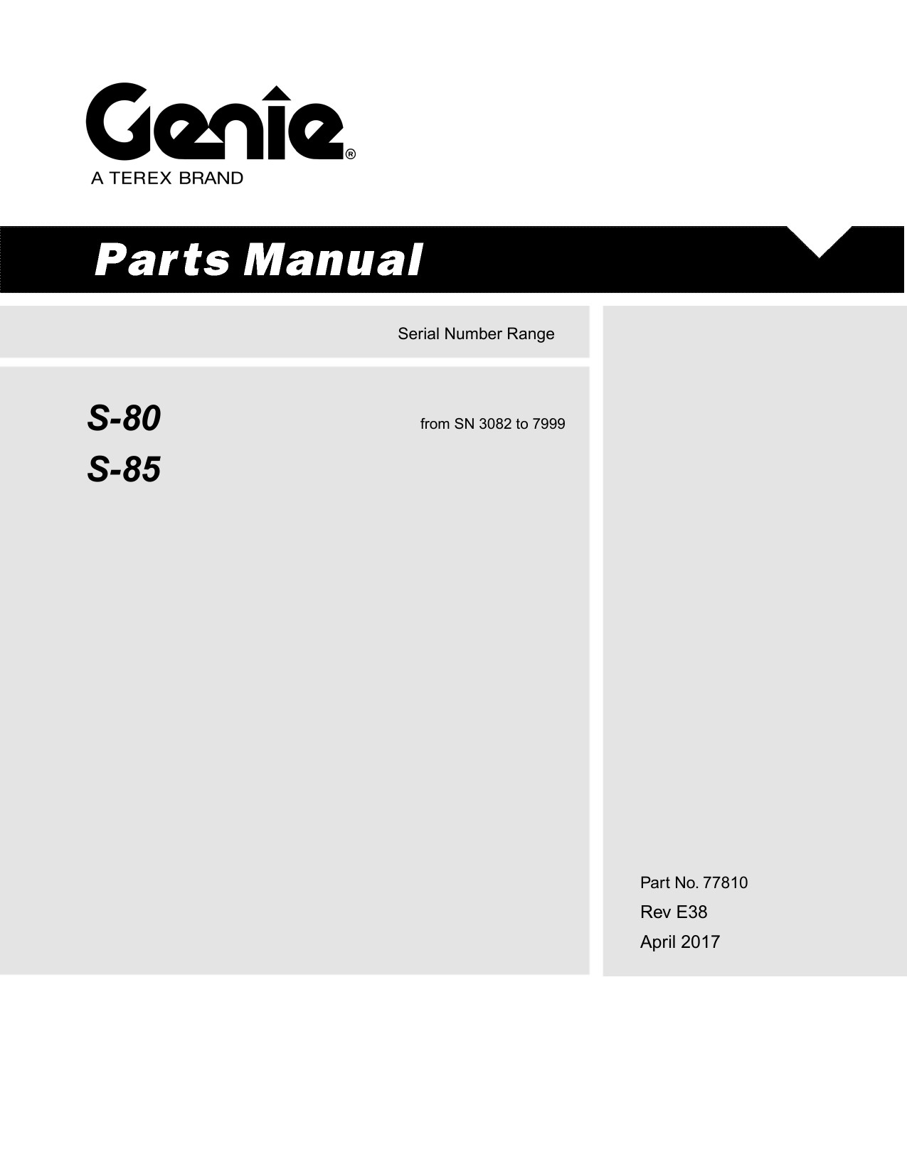 Deutz Engine Parts Diagram Genia S 80 Boomlift Parts Manual Of Deutz Engine Parts Diagram Deutz Alternator Wiring Diagram