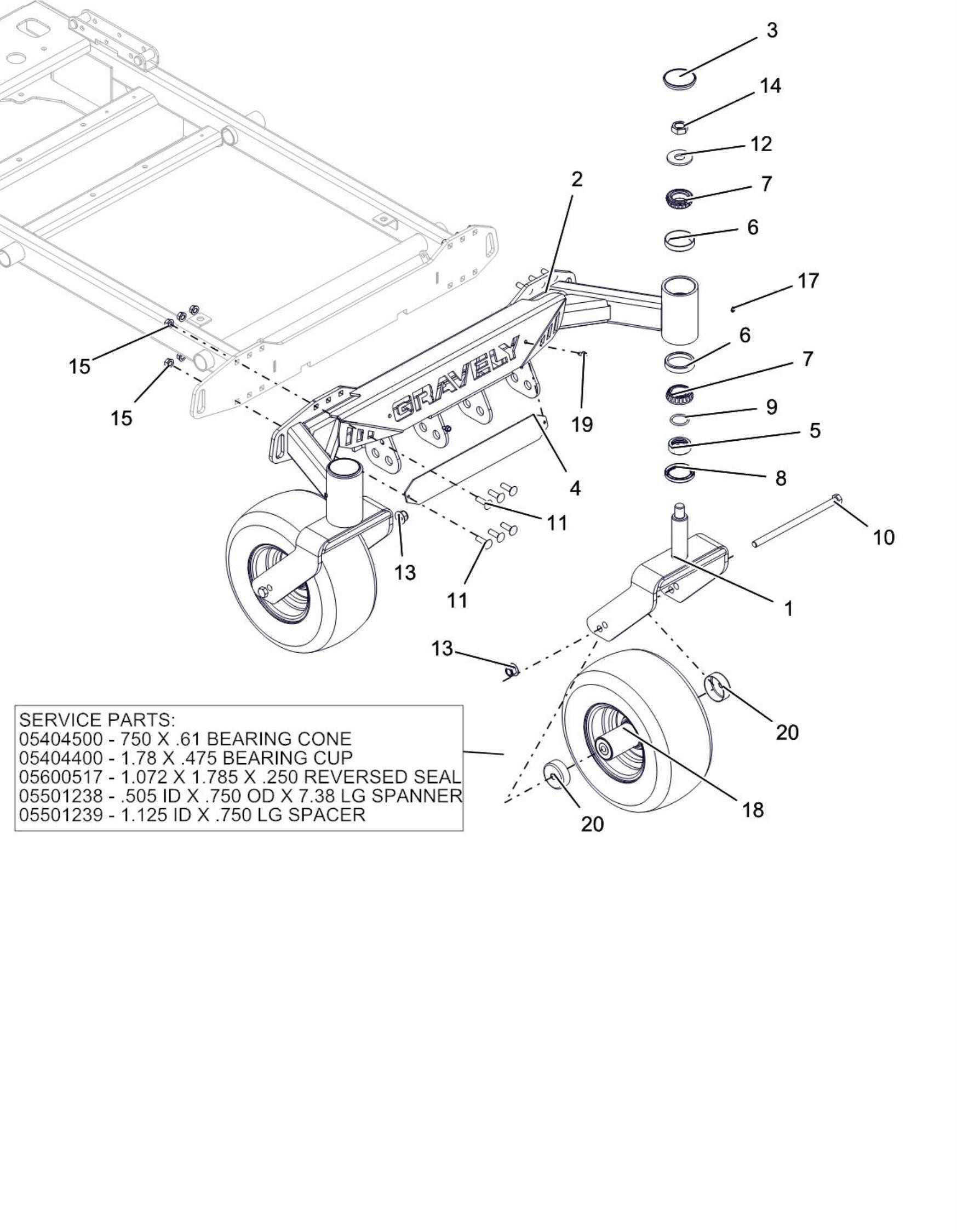 Diagram Of Car Wheel and Axle Front Axle and Tire 60 Inch