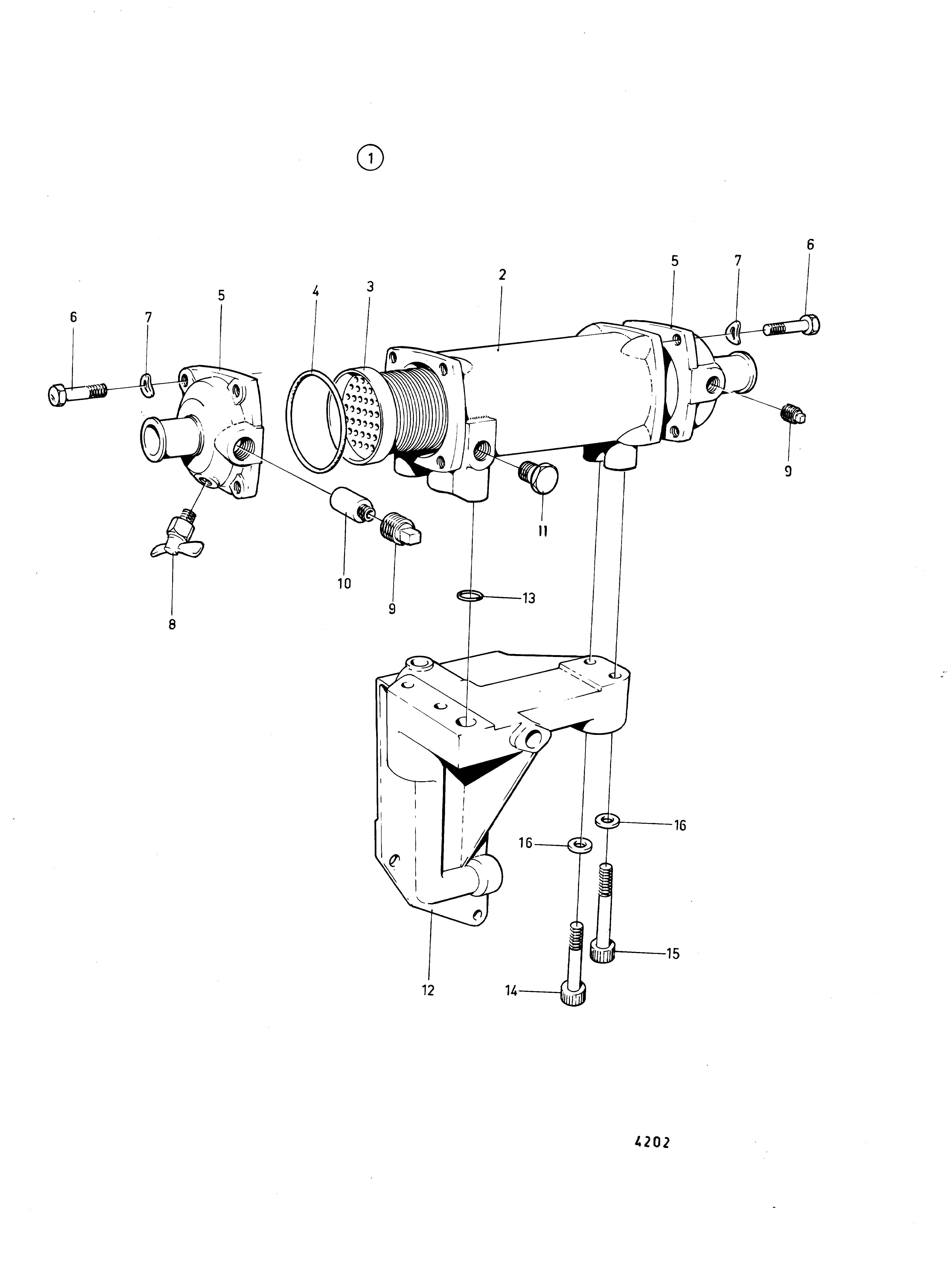 Diesel Turbo Diagram Volvo Penta Cooling System Of Diesel Turbo Diagram
