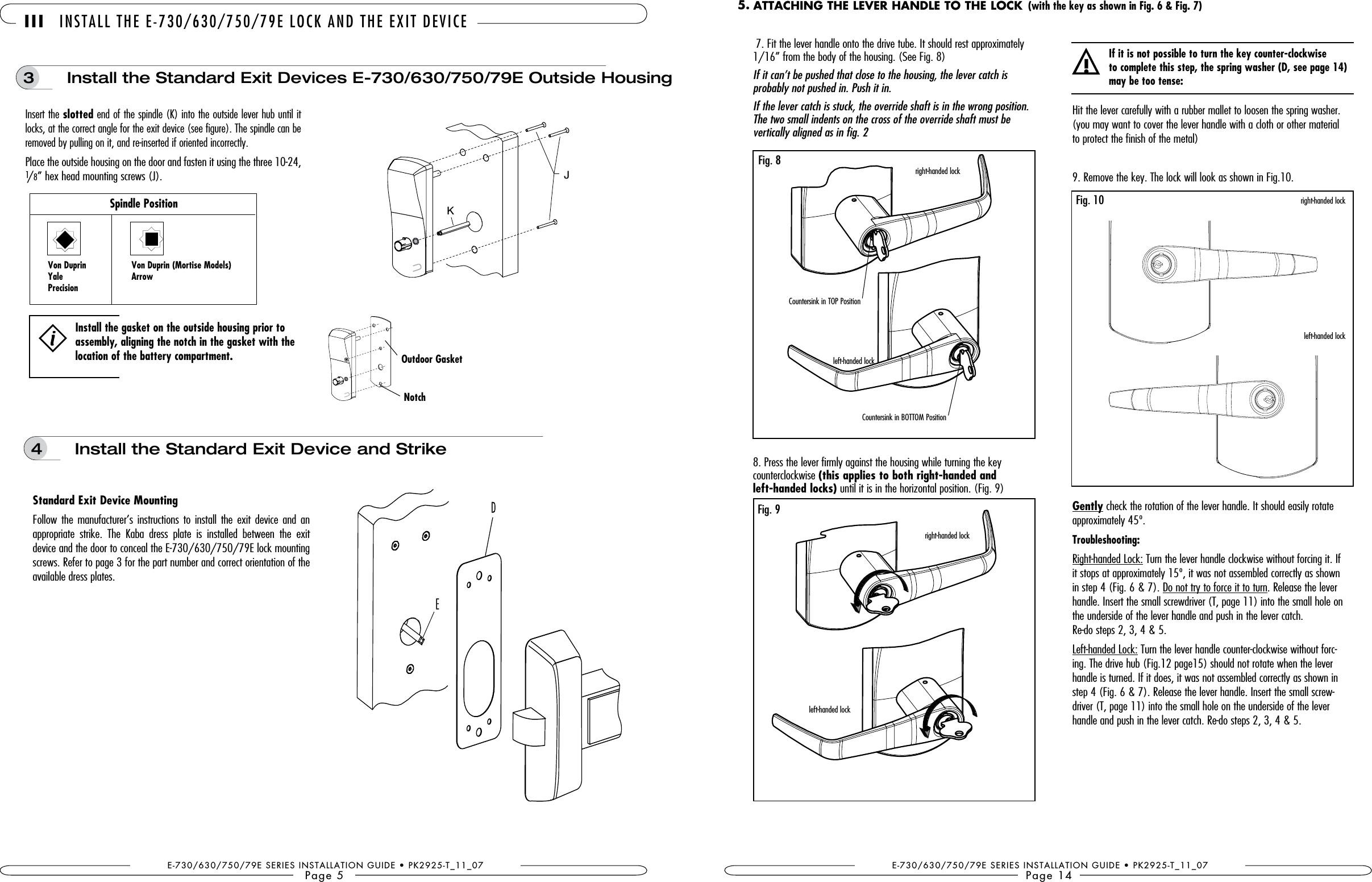 Door Lock Parts Diagram Csc790 Door Lock User Manual Manual Kaba Ilco Of Door Lock Parts Diagram