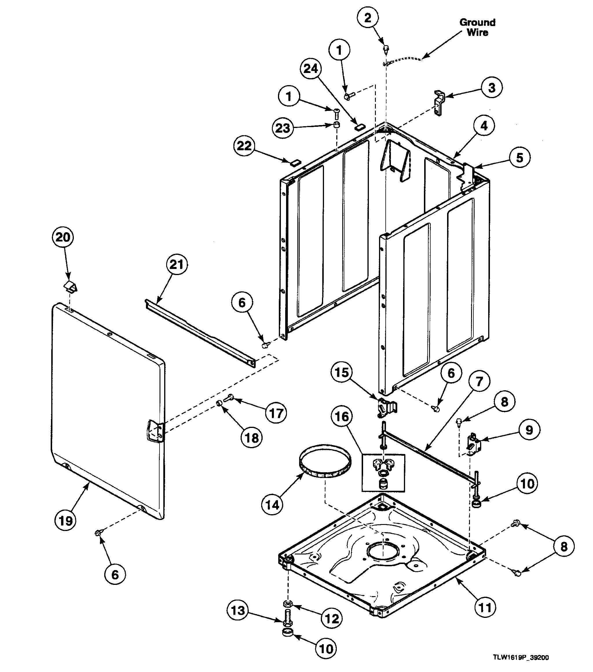 Drill Press Parts Diagram