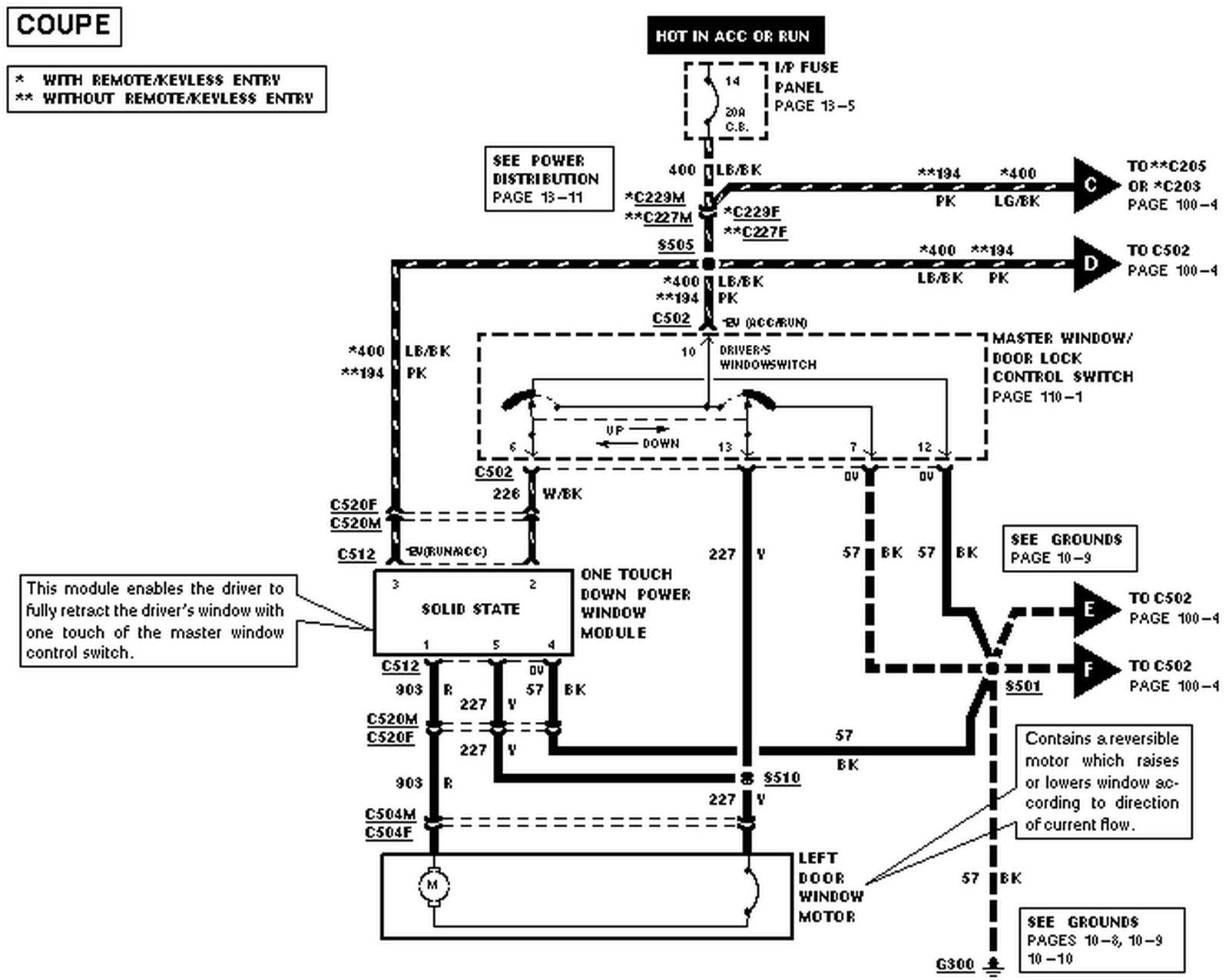 Electric Window Wiring Diagram 98 F250 Window Wiring Diagram Of Electric Window Wiring Diagram
