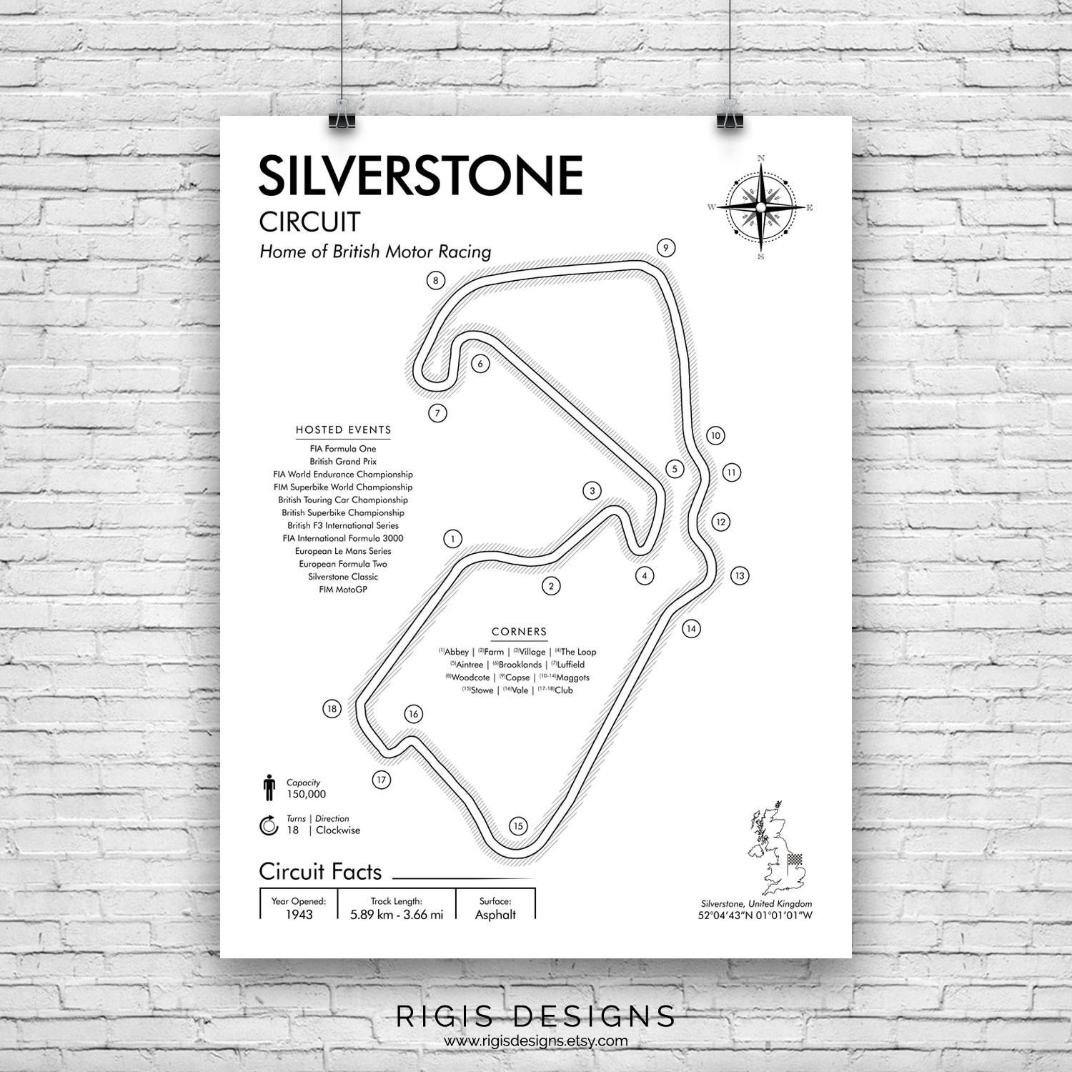 F1 Car Diagram Silverstone Circuit F1 Race Track F1 Circuits formula E Of F1 Car Diagram