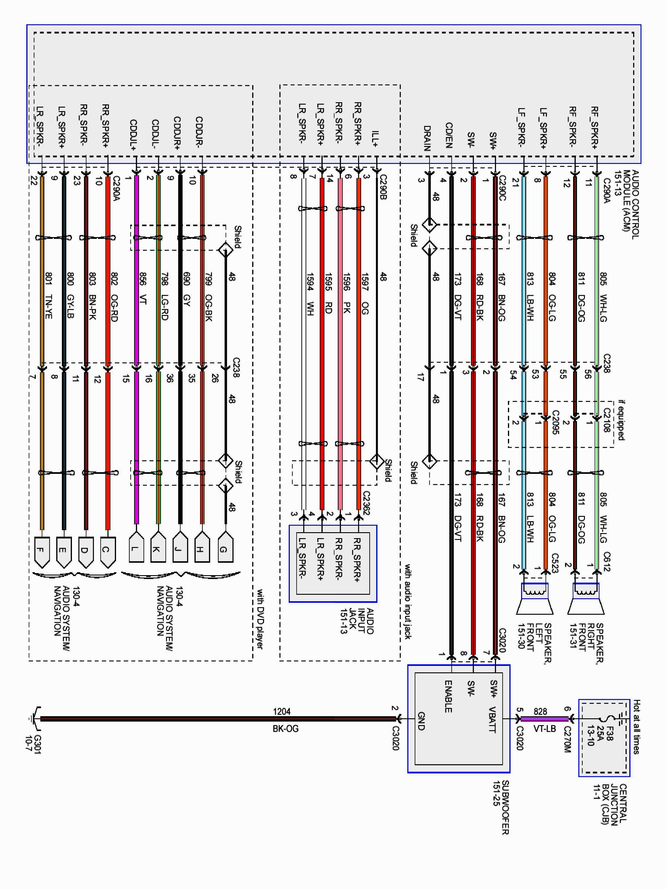 Factory Wiring Diagrams Car Audio ford Factory Wiring Colors Wiring Diagram Paper Of Factory Wiring Diagrams Car Audio