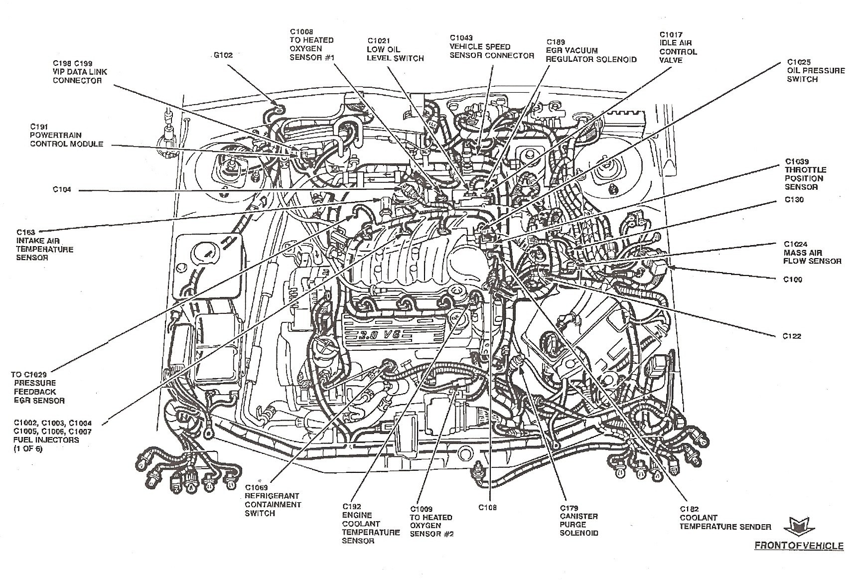 Ford Focus Engine Diagram 2001 ford Focus Fuel System Diagram Wiring Diagram Used
