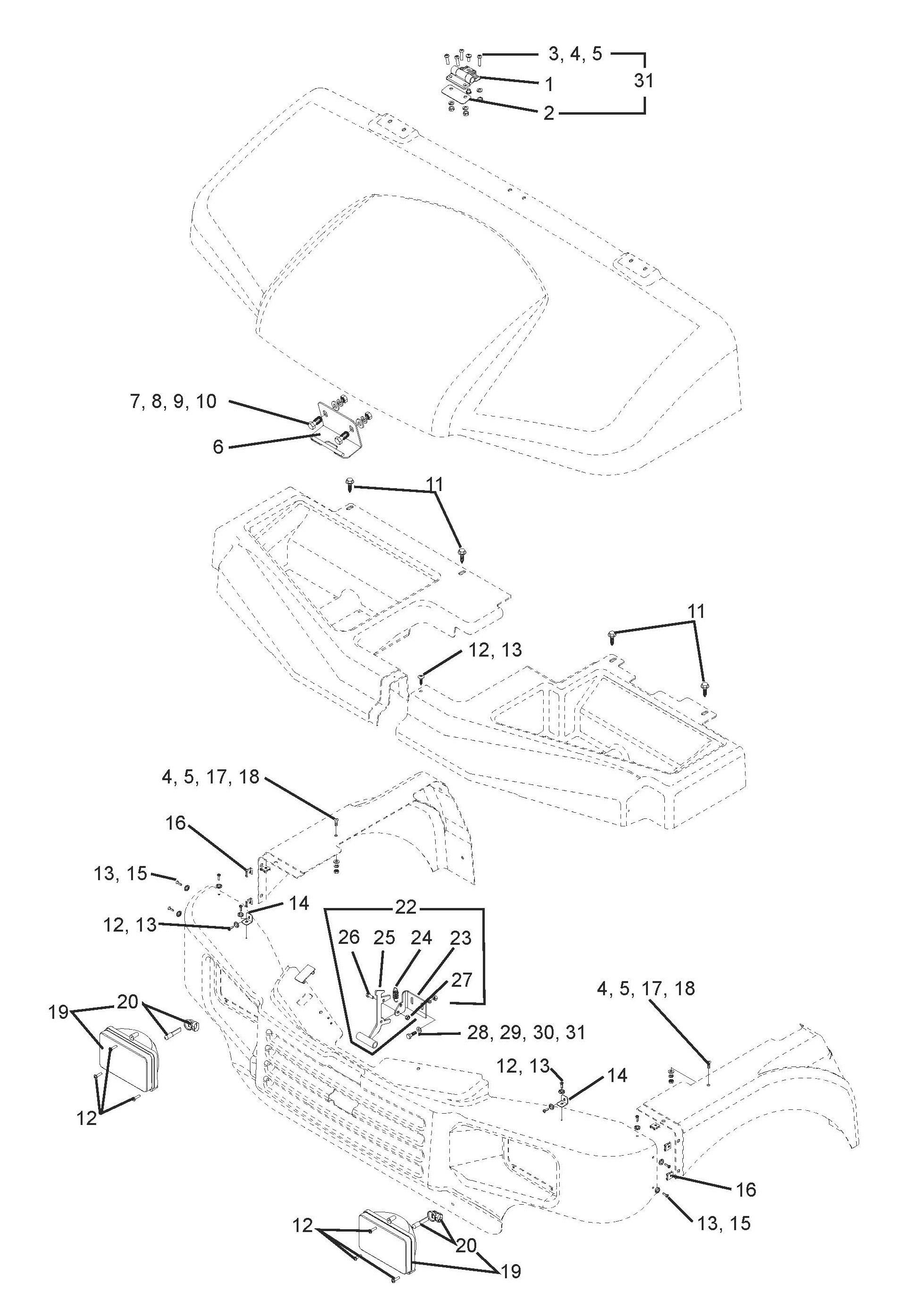 Front End Suspension Parts Diagram Bush Hog 4430 Utv Parts Parts 4430 Utv Parts Front End Body Parts Of Front End Suspension Parts Diagram