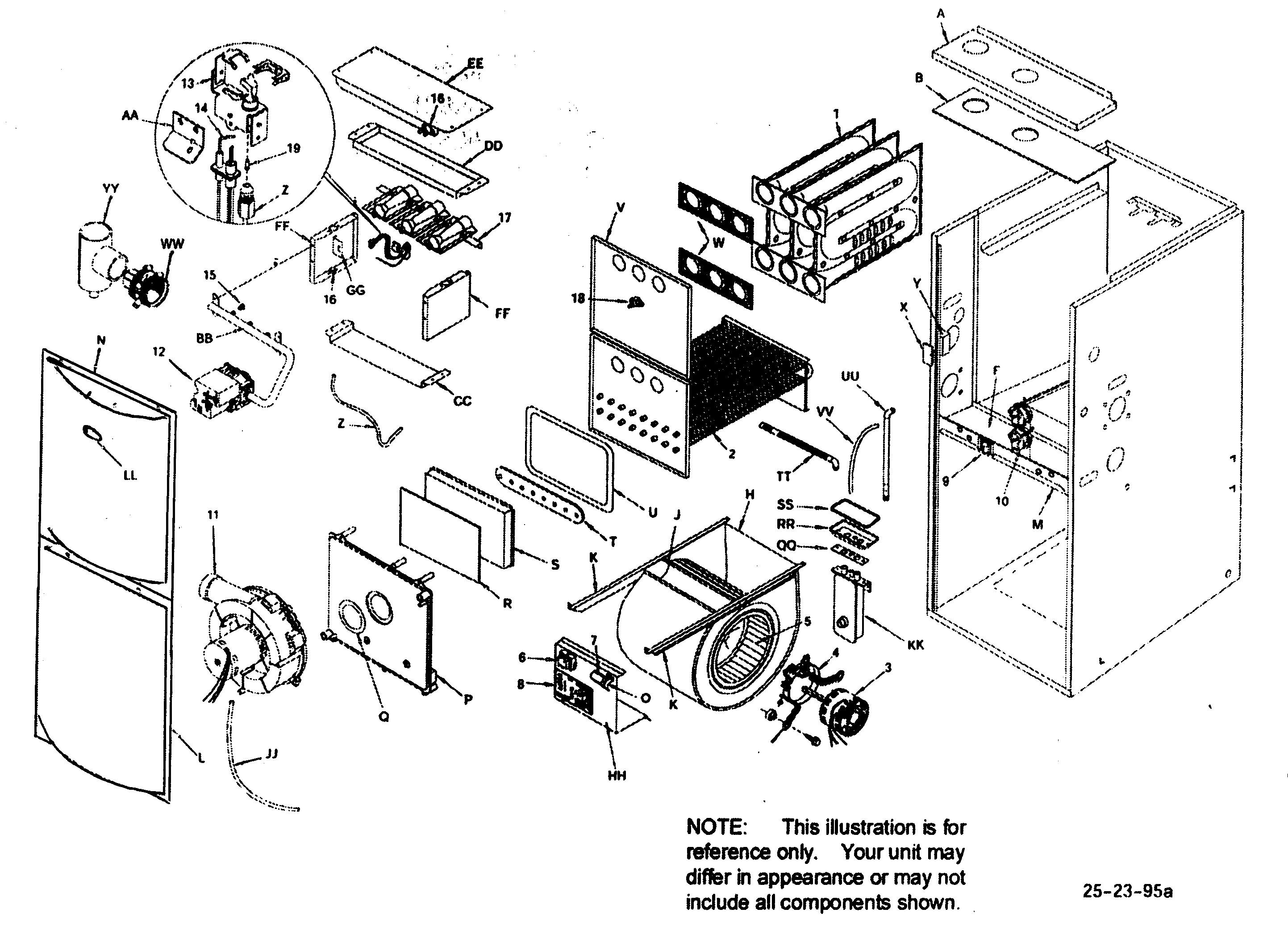 Gas Furnace Parts Diagram Heil Furnace Parts Diagram Facias Of Gas Furnace Parts Diagram