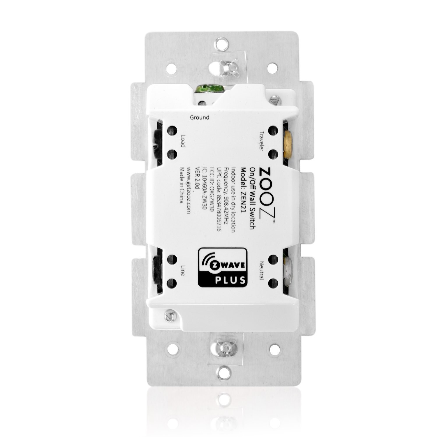 Lighted Rocker Switch Wiring Diagram Zooz Z Wave Plus F Light Switch Zen21 Ver 3 0 the Smartest Of Lighted Rocker Switch Wiring Diagram