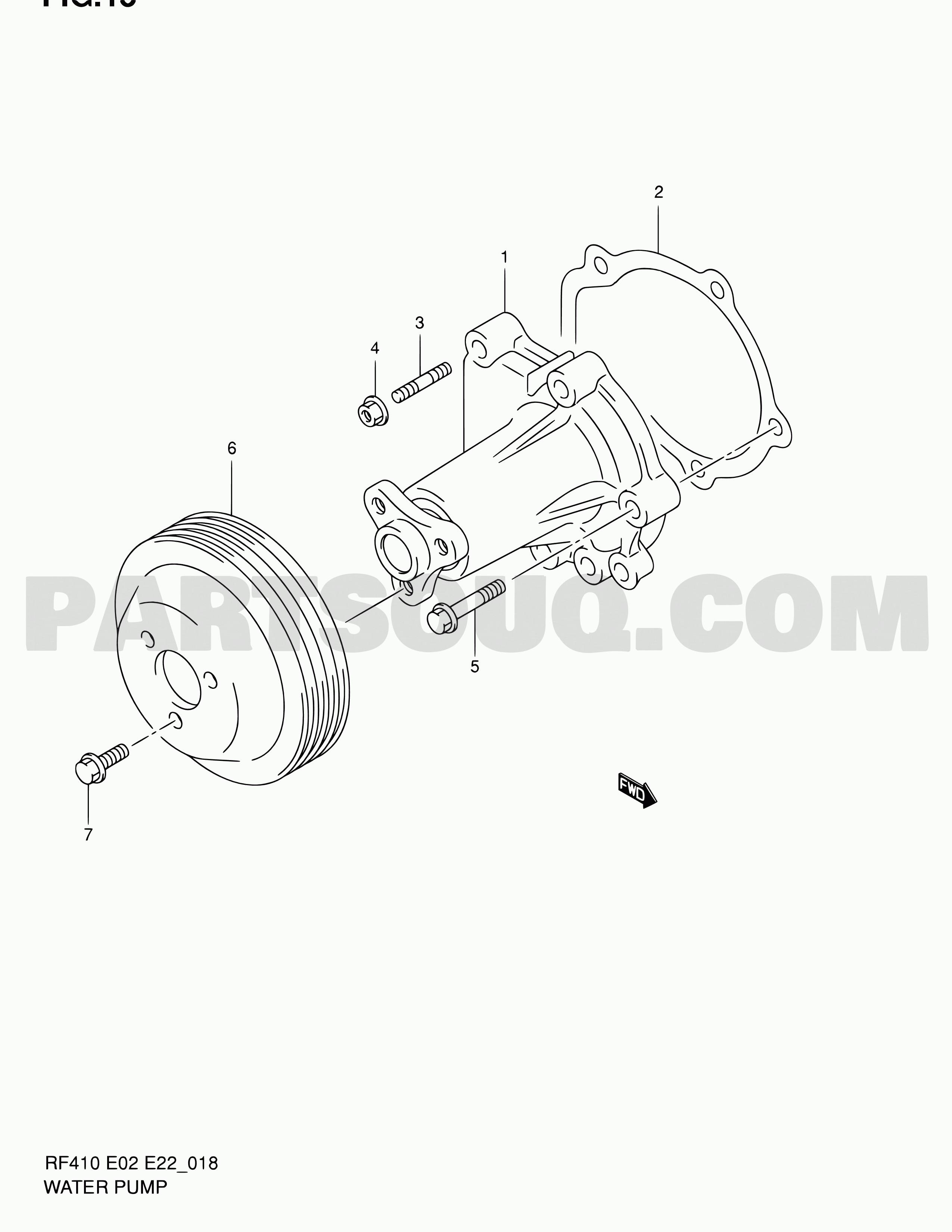 Maruti Suzuki 800 Engine Diagram 18 Water Pump Of Maruti Suzuki 800 Engine Diagram