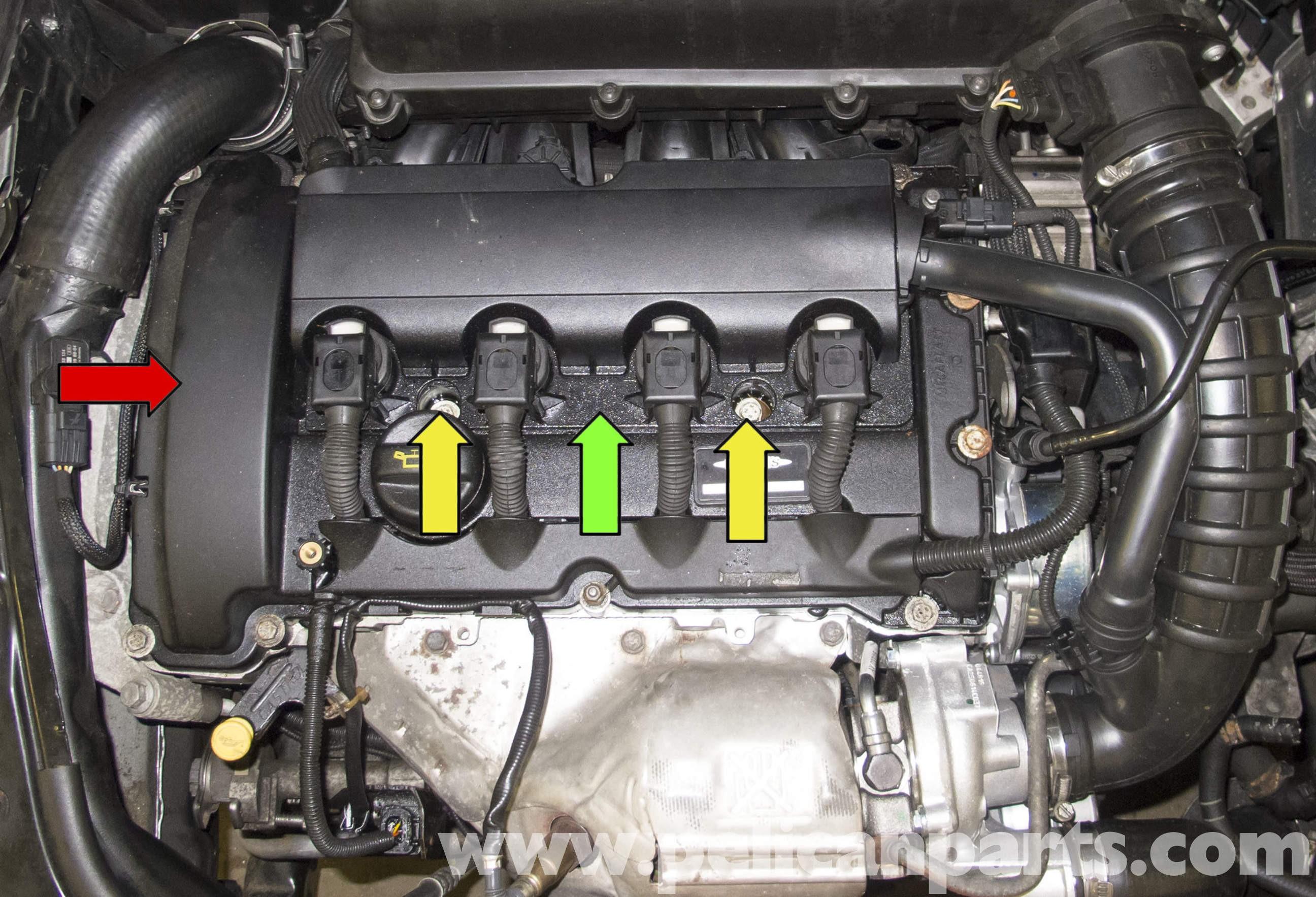 Mini Cooper Engine Bay Diagram Mini Cooper R56 Oil Leak Diagnosis 2007 2011 Of Mini Cooper Engine Bay Diagram