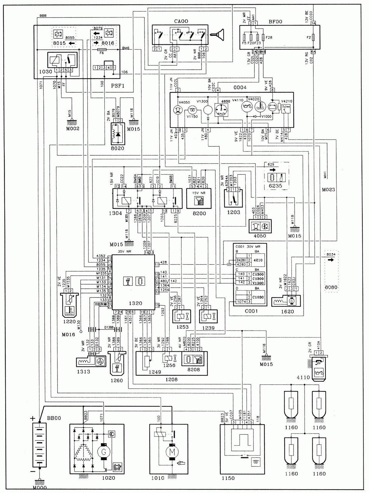 Diagram  Peugeot 307 Bsi Wiring Diagram Full Version Hd
