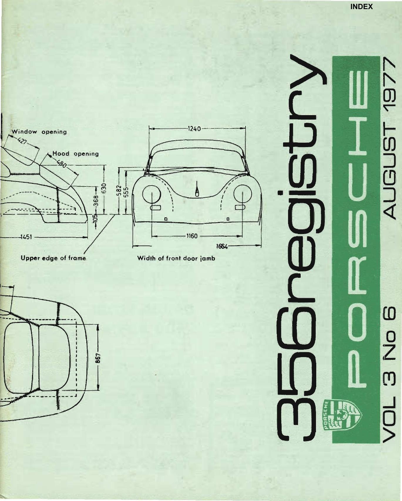 Porsche 356 Engine Diagram