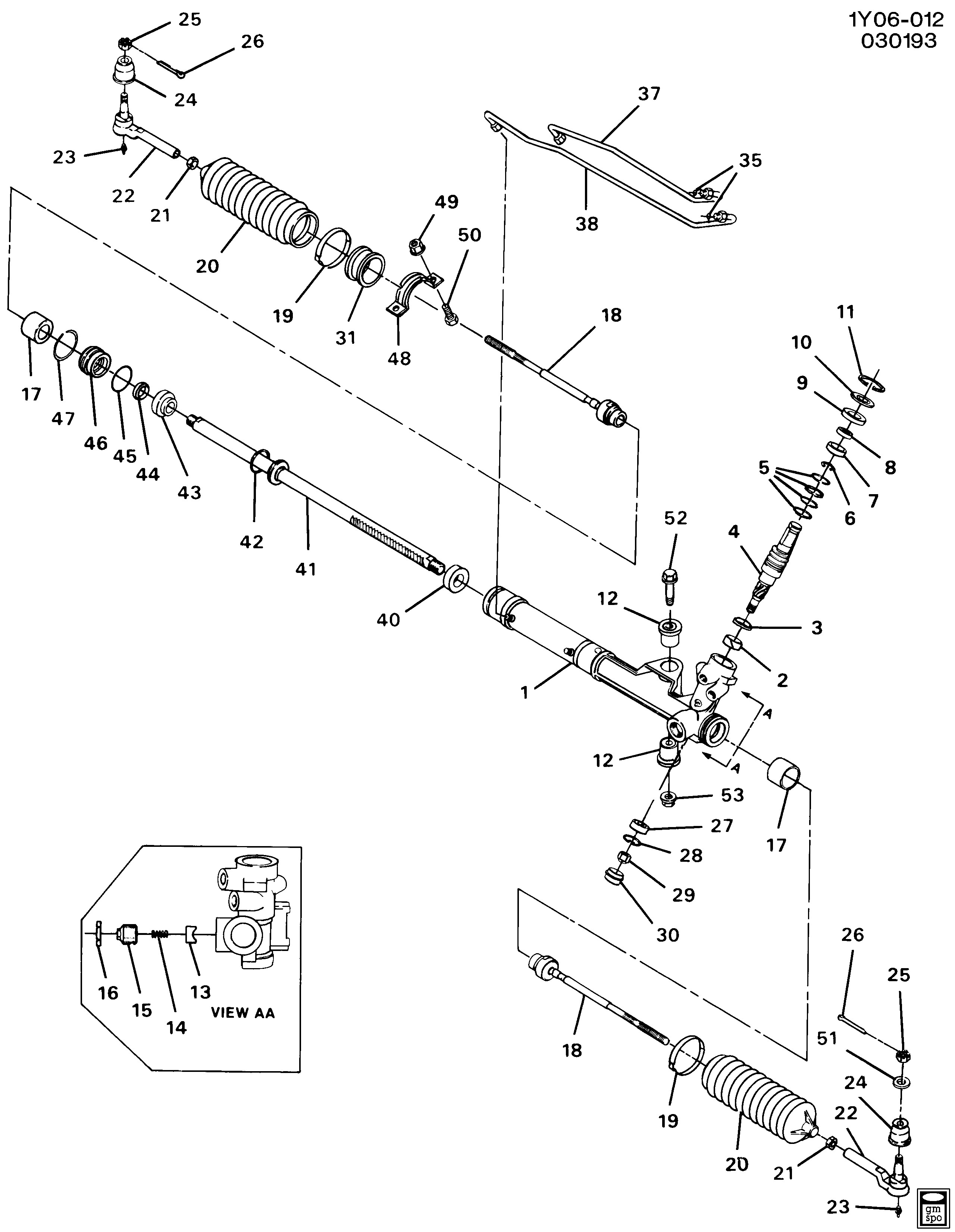 Power Steering Rack and Pinion Diagram Corvette Steering asm Rack & Pinion Power Chevrolet Epc Line
