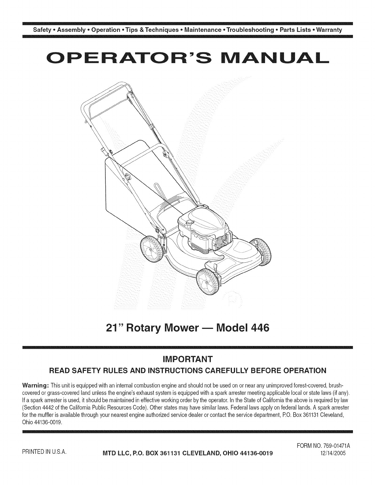 Small Engine Parts Diagram Mtd 12a 446b729 User Manual Lawn Mower Manuals and Guides L Of Small Engine Parts Diagram Looking for Snapper Model Wm B Rear Engine Riding Mower Repair