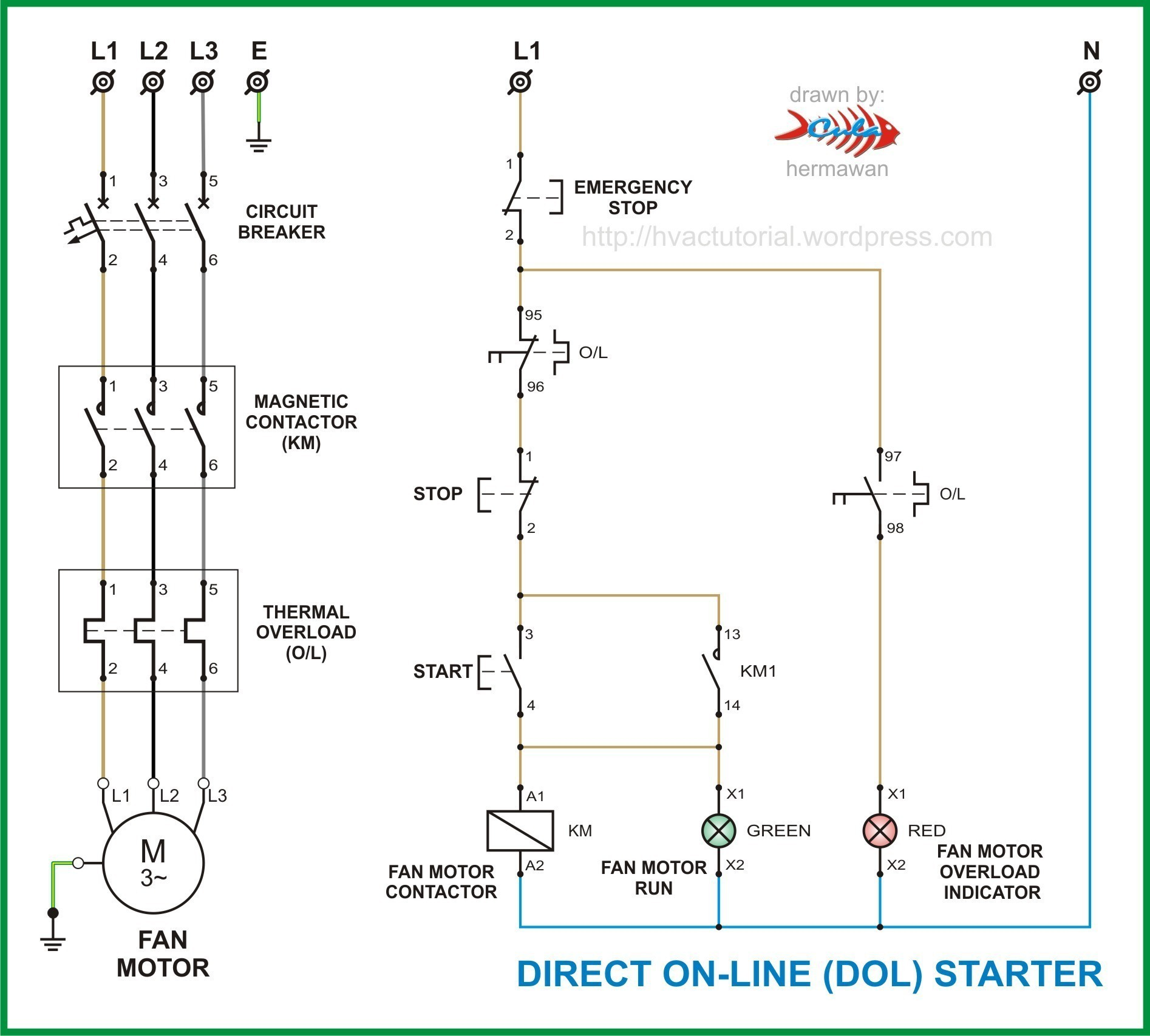 Square D Magnetic Starter Wiring Diagram | My Wiring DIagram on