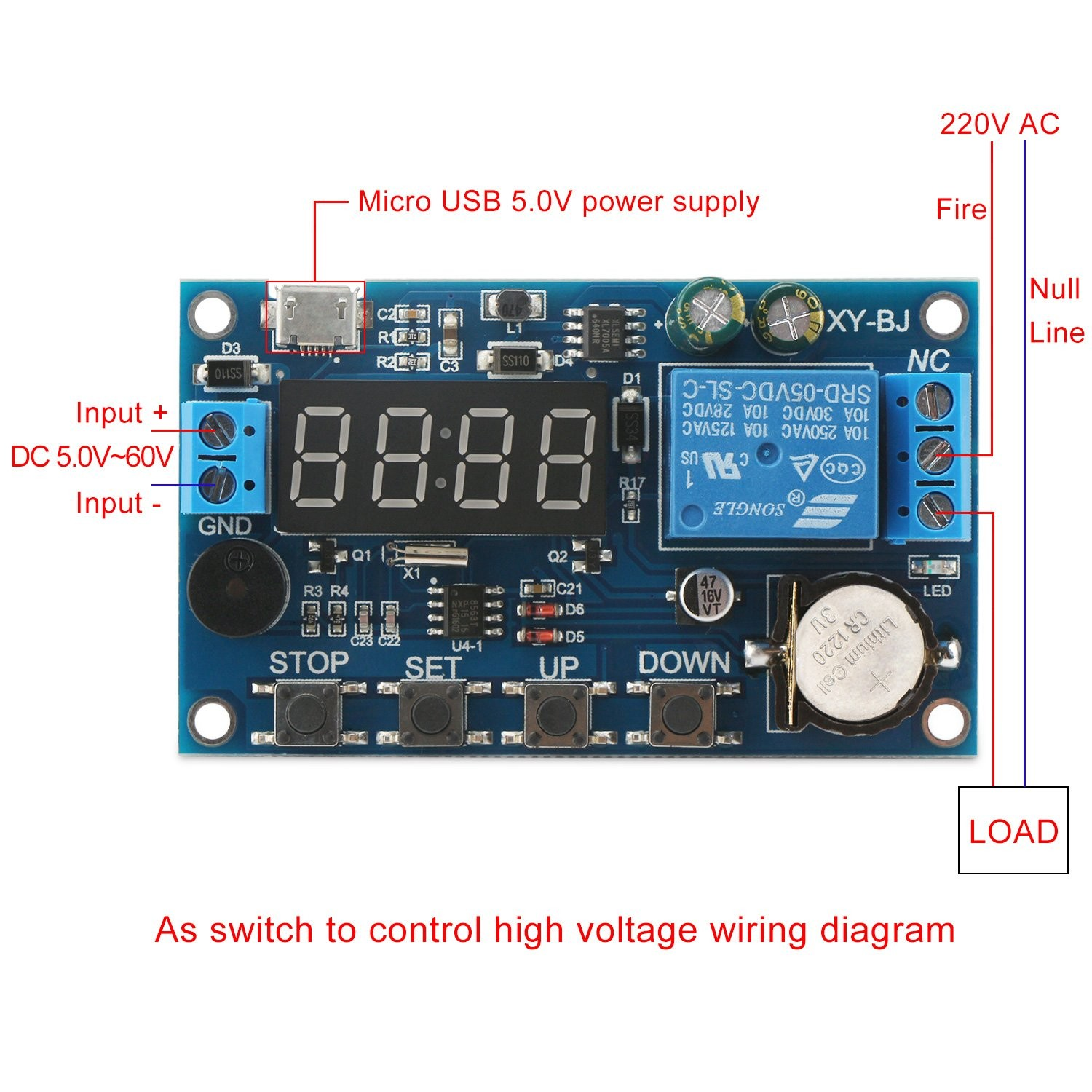Time Delay Relay Wiring Diagram Led Chaser Using and Timer Circuit