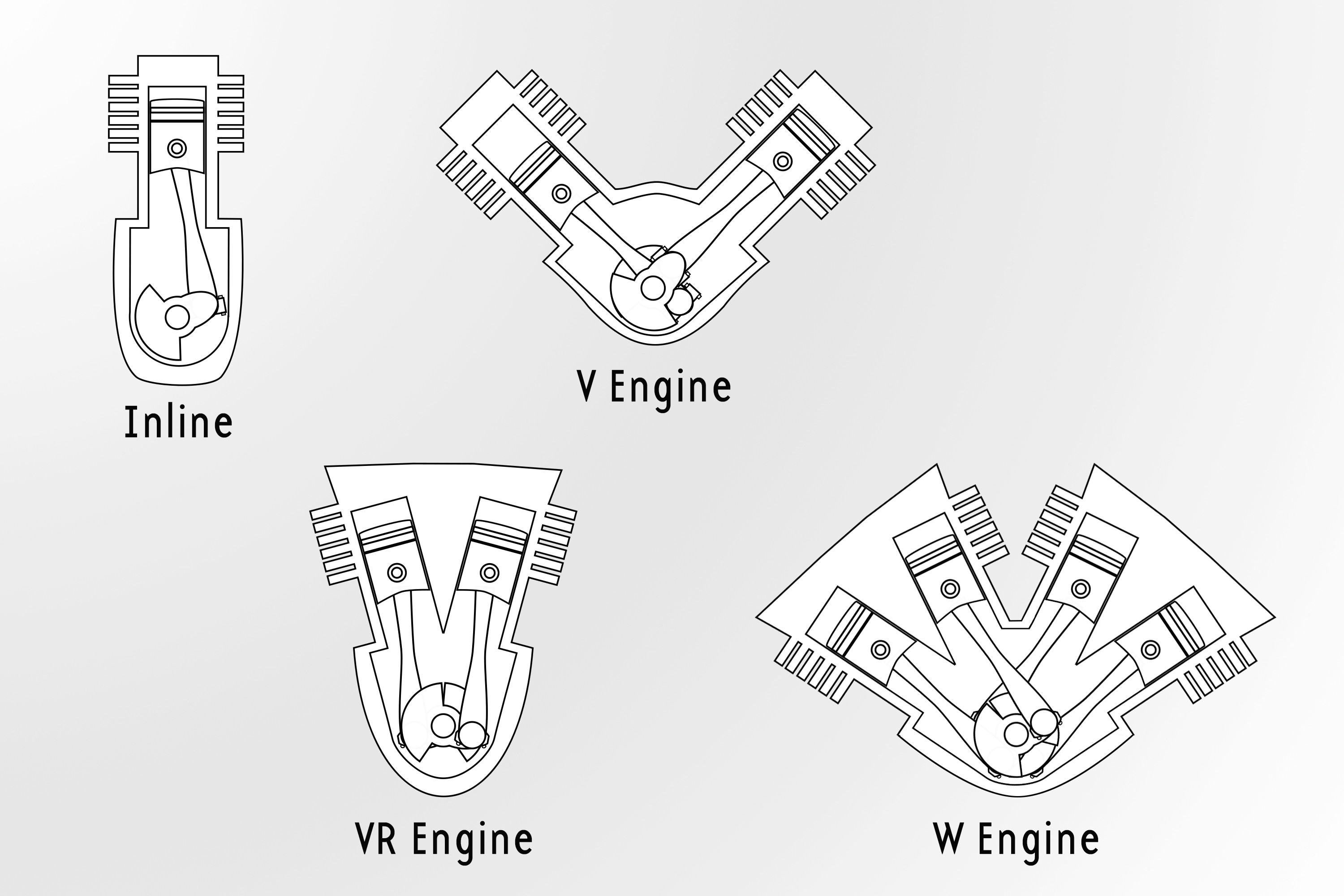 "W16 Engine Diagram Engineering Hall Of Fame Volkswagen ""w"" Engine and the Bugatti W16 Of W16 Engine Diagram"