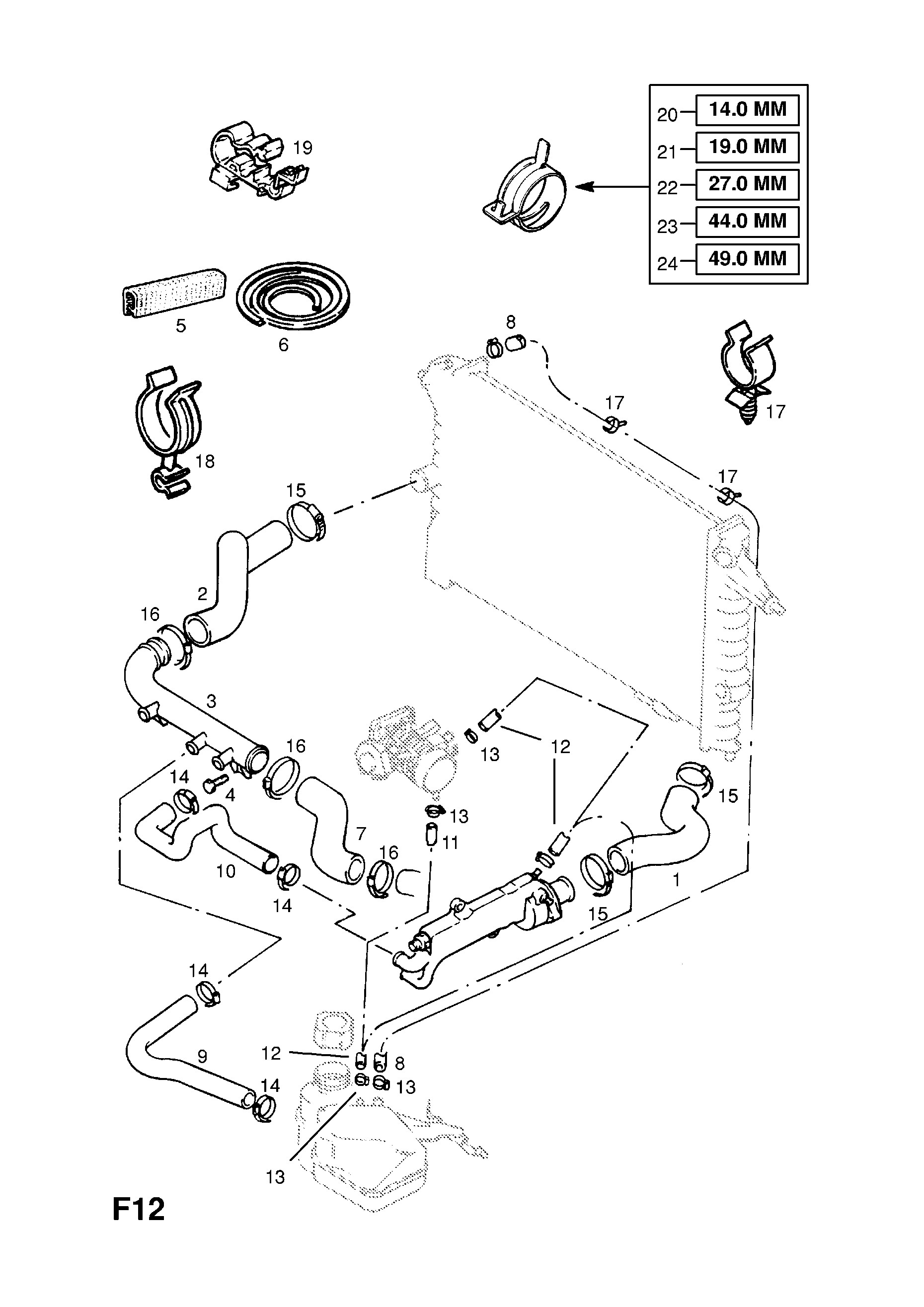 1995 Ford Aerostar Engine Diagram