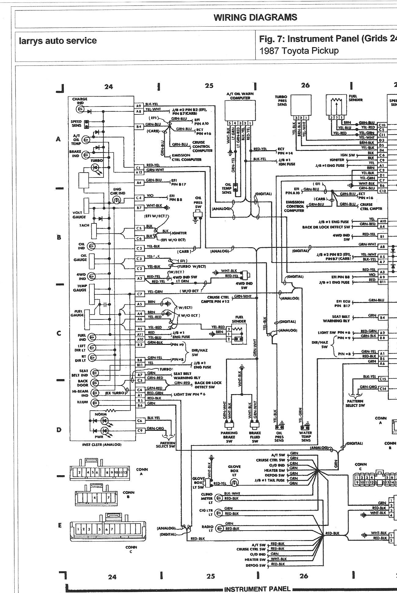 1995 toyota Camry Engine Diagram 1984 toyota Pickup Engine Diagram Wiring Diagram User Of 1995 toyota Camry Engine Diagram